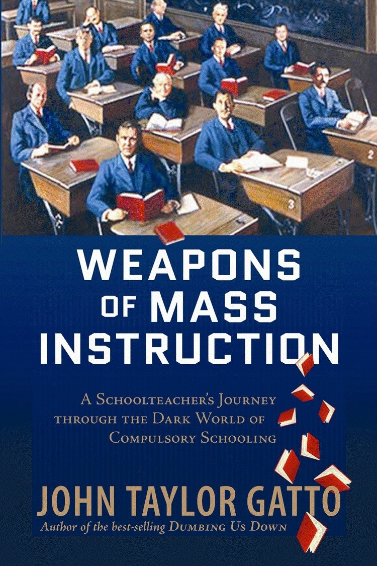 Weapons of Mass Instruction: A Schoolteacher's Journey Through the Dark World of Compulsory Schooling - by John Taylor GattoThe transformation of schooling from a twelve-year jail sentence to freedom to learn.John Taylor Gatto's Weapons of Mass Instruction , now available in paperback, focuses on mechanisms of traditional education which cripple imagination, discourage critical thinking, and create a false view of learning as a byproduct of rote-memorization drills. Gatto's earlier book, Dumbing Us Down , introduced the now-famous expression of the title into the common vernacular. Weapons of Mass Instruction adds another chilling metaphor to the brief against conventional schooling.Gatto demonstrates that the harm school inflicts is rational and deliberate. The real function of pedagogy, he argues, is to render the common population manageable. To that end, young people must be conditioned to rely upon experts, to remain divided from natural alliances and to accept disconnections from their own lived experiences. They must at all costs be discouraged from developing self-reliance and independence.Escaping this trap requires a strategy Gatto calls