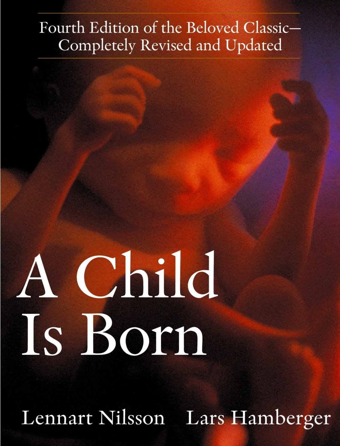 A child is born - By Lennart NilssonIn this latest edition of a classic originally published almost 40 years ago, photographer Nilsson and obstetrician Hamberger explore the miracle of birth, from attraction between a man and a woman to fertilization, pregnancy, labor and delivery; they also discuss infertility and developments in IVF and other treatments. Over 350 new photographs have been added to the fourth edition, including in utero pictures captured with endoscopy and three-dimensional ultrasound technology. Nilsson zooms in on sperm racing towards the egg, the brand-new zygote, the embryo clinging to the lining of the uterus, a tadpole-like fetus and the remarkably developed ear of a 18-week old fetus, among other moments in the process of human reproduction. With Hamberger's updated text on guidance for new parents, progress in fertility treatments, genetics and pregnancy health, the volume should continue to be a vivid reference for the whole family.