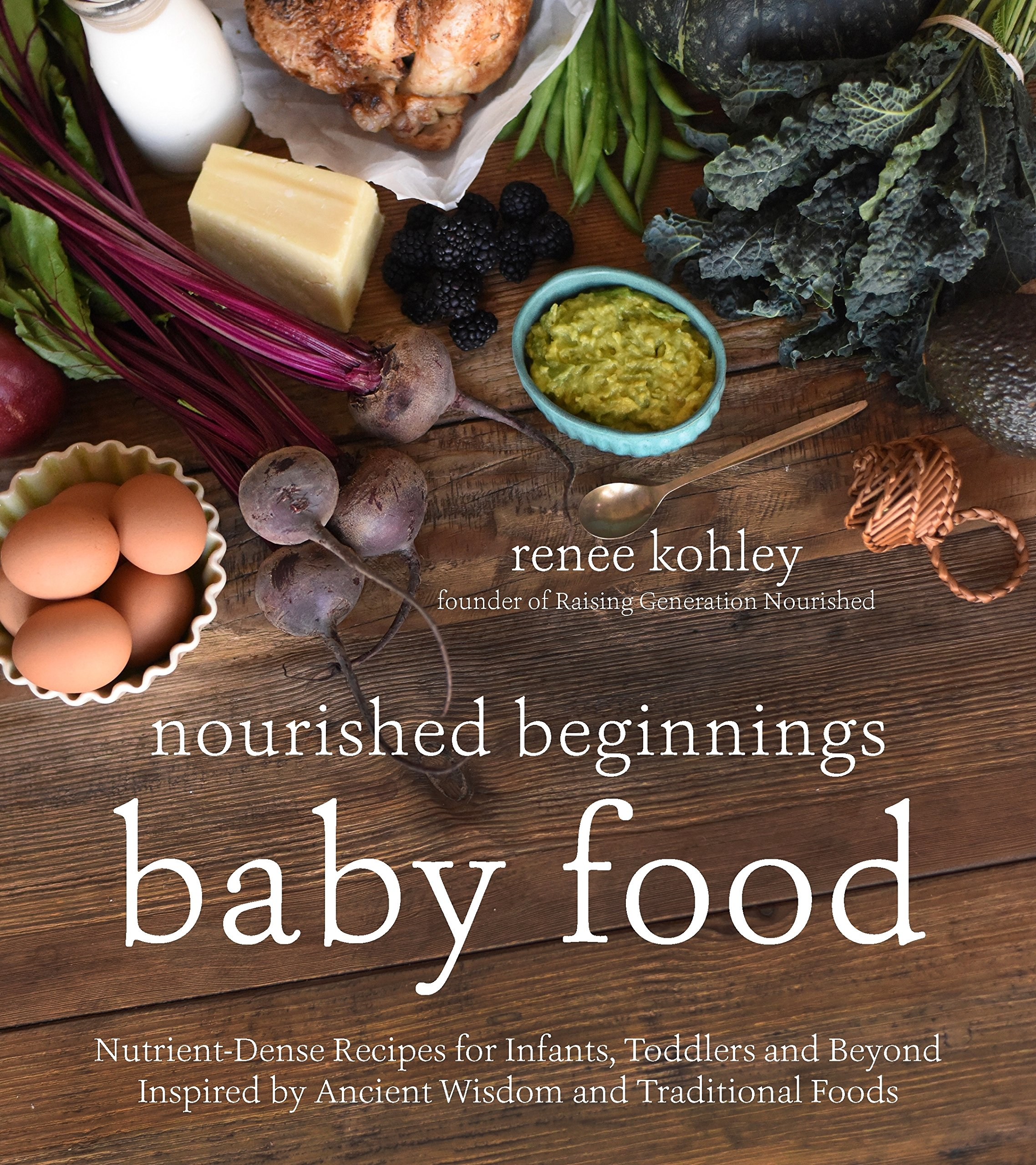 Nourished Beginnings Baby Food: Nutrient-Dense Recipes for Infants, Toddlers and Beyond Inspired by Ancient Wisdom and Traditional Foods - by Renee KohleyNurturing Nutrition for Your Beautiful BabyStart your baby on a nutrient-dense journey by preparing his or her first foods from scratch with healthy whole-food ingredients. Steal their taste palates away from processed ingredients by getting back to the basics. Your care in the first years will result in a child who knows where their food comes from and who won't shy away from fresh vegetables or wholesome ingredients. Plus, the recipes come together in a pinch and will save you time and money along the way.Renee Kohley's healthy foods nurture not just baby, but are delicious for the rest of the family, too. With recipes such as Bone Broth for baby transformed into Fresh Spring Vegetable Soup for the rest of the family, Renee provides simple tips to feed more hungry mouths faster, easier, cheaper and more nutritiously. With everything from single-ingredient purees for newborns to fuller meals that incorporate grains, nuts and legumes for toddlers, you have all your bases covered.With Nourished Beginnings Baby Food you will help your child develop healthy eating habits for life.