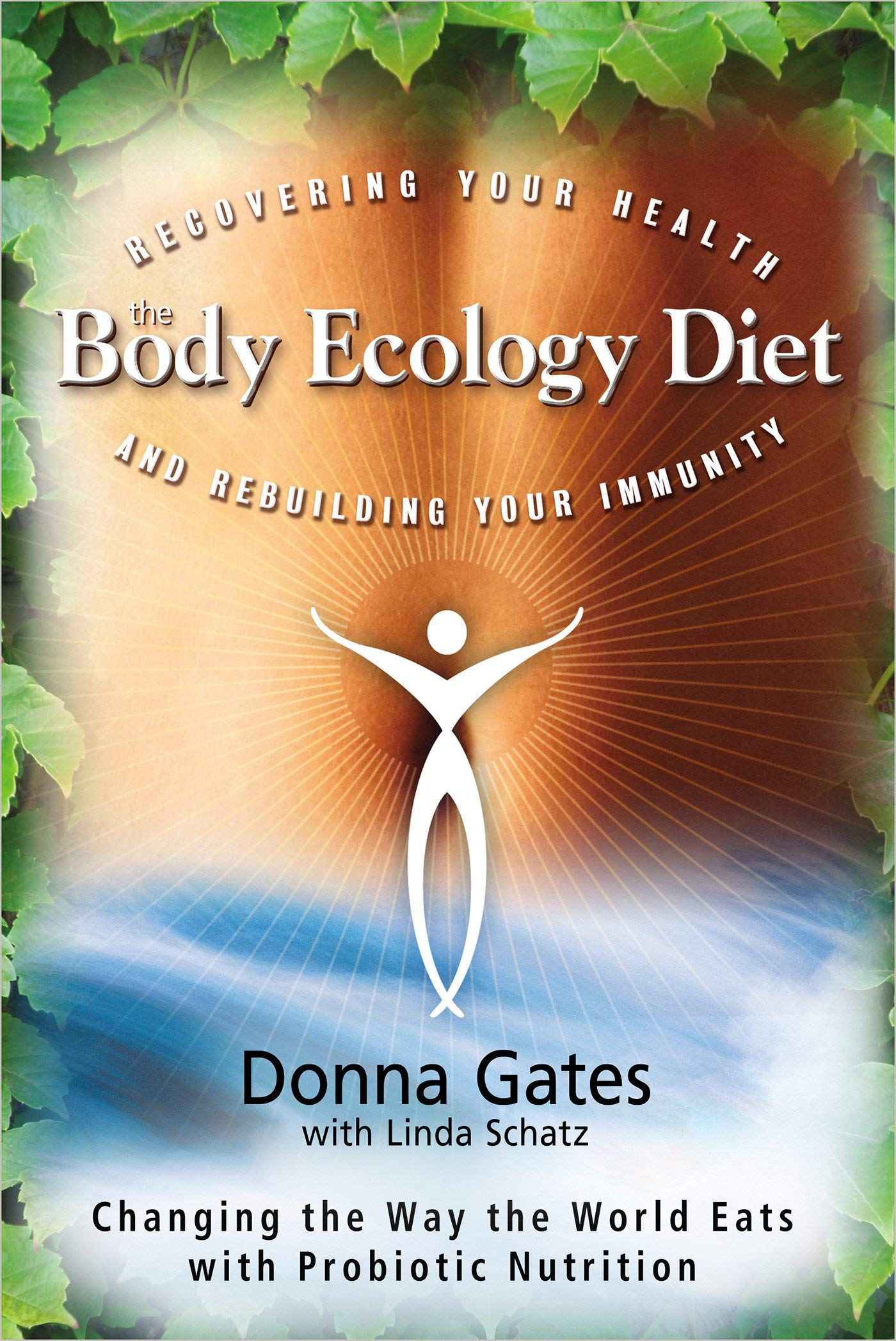 "the body ecology diet - By Donna GatesIf you're experiencing discomfort, fatigue, or other symptoms that won't go away no matter what you do or how many doctors you see, chances are you're one of the millions unknowingly suffering from a systemic fungal/yeast infection, ""the hidden invader."" The result of an imbalance starting in your internal ecosystem, this can be a key factor in headaches, joint and muscle pain, depression, cancer, food allergies, digestive problems, autism, and other immune-related disorders.The Body Ecology Diet reveals how to restore and maintain the ""inner ecology"" your body needs to function properly, and eliminate or control the symptoms that rob you of the joy of living. Tens of thousands of people have already benefited from the Body Ecology way of life—Donna Gates shows you, step-by-step, how to eat your way to better health and well-being . . . deliciously, easily, and inexpensively!In this book, you will learn how to: use seven basic universal principles as tools to gain mastery over every health challenge you may encounter; focus on your inner ecology to create ideal digestive balance; conquer cravings with strategies for satisfying snacking and for dining away from home; and plan meals with dozens of delectable recipes, an array of menus, and detailed shopping lists."