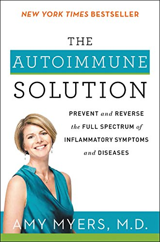 The Autoimmune Solution: Prevent and Reverse the Full Spectrum of Inflammatory Symptoms and Diseases - By Amy Myers, M.D.Over 90 percent of the population suffers from inflammation or an autoimmune disorder. Until now, conventional medicine has said there is no cure. Minor irritations like rashes and runny noses are ignored, while chronic and debilitating diseases like Crohn's and rheumatoid arthritis are handled with a cocktail of toxic treatments that fail to address their root cause. But it doesn't have to be this way.In The Autoimmune Solution, Dr. Amy Myers, a renowned leader in functional medicine, offers her medically proven approach to prevent a wide range of inflammatory-related symptoms and diseases, including allergies, obesity, asthma, cardiovascular disease, fibromyalgia, lupus, IBS, chronic headaches, and Hashimoto's thyroiditis.