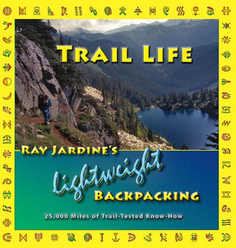"""Trail life: ray jardine's lightweight backpacking - By Ray JardineTHIS IS THE ULTRALIGHTWEIGHT BACKPACKING BIBLE, and the Rainoshek's personal resource for almost everything ultralightweight.This is Ray Jardine's new, full-colour, 2009 edition of his best-selling book """"Beyond Backpacking"""". Now full of colour photos and diagrams, this new title reflects a multitude of updated information, detailing Ray Jardine's lightweight backpacking techniques, his gear, and his methods for enjoyable and safe trekking and camping.Sections and chapters include Packweight, Equipment, Food, Water, Trail Biology, Sewing Your Own Gear, Hiker's Well-Being, Wilderness Skills, Insects, Long-Distance Trekking, a chapter specifically for women, and much more. """"Trail Life"""" will be the new standard reference book for the backpacker.If you have ever thought your pack weighed too much on a week long hike, this book shows hikers how to cut the weight out and explodes myths about heavy equipment. This is the most comprehensive long distance trekking guide ever written. A lightweight approach to backpacking is here to stay. """"Trail Life"""" is for all hikers, at all levels of experience, from beginners to the most advanced. It includes 400 pages, over 50 chapters with more than 230 colour photos.The author and his wife have hiked well over 25,000 miles along all the well known trails as well as a myriad of other routes. Their experiences will prove to be an invaluable guide for those who love to hike and those who seek the solitude of the outdoors."""