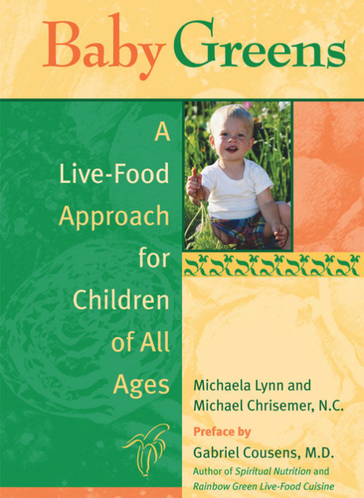baby greens - By Michaela LynnThe typical American diet is a major factor in the epidemic of obesity and poor health in the country's children. Baby Greens helps parents establish healthy eating habits in their children — and themselves — through a diet rich in raw foods. A lively mix of education, philosophy, recipes, and activities, the book adapts the living foods approach for all ages and lifestyles.The first part of the book explains the principles of bioenergetic nutrition and shows how cutting-edge nutritional practices — including nutritional individuality, pH balance, terrain testing, and homeopathy — can dramatically improve a child's health. In addition to recipes and resources, the second part offers insights into the holistic approach to pregnancy, breastfeeding, extended breastfeeding, weaning, food experimentation, play, and other daily activities. Written in reassuring, easy to understand language, Baby Greens empowers parents to step outside the fast food box and take a proactive approach to maintaining their family's health and well-being.
