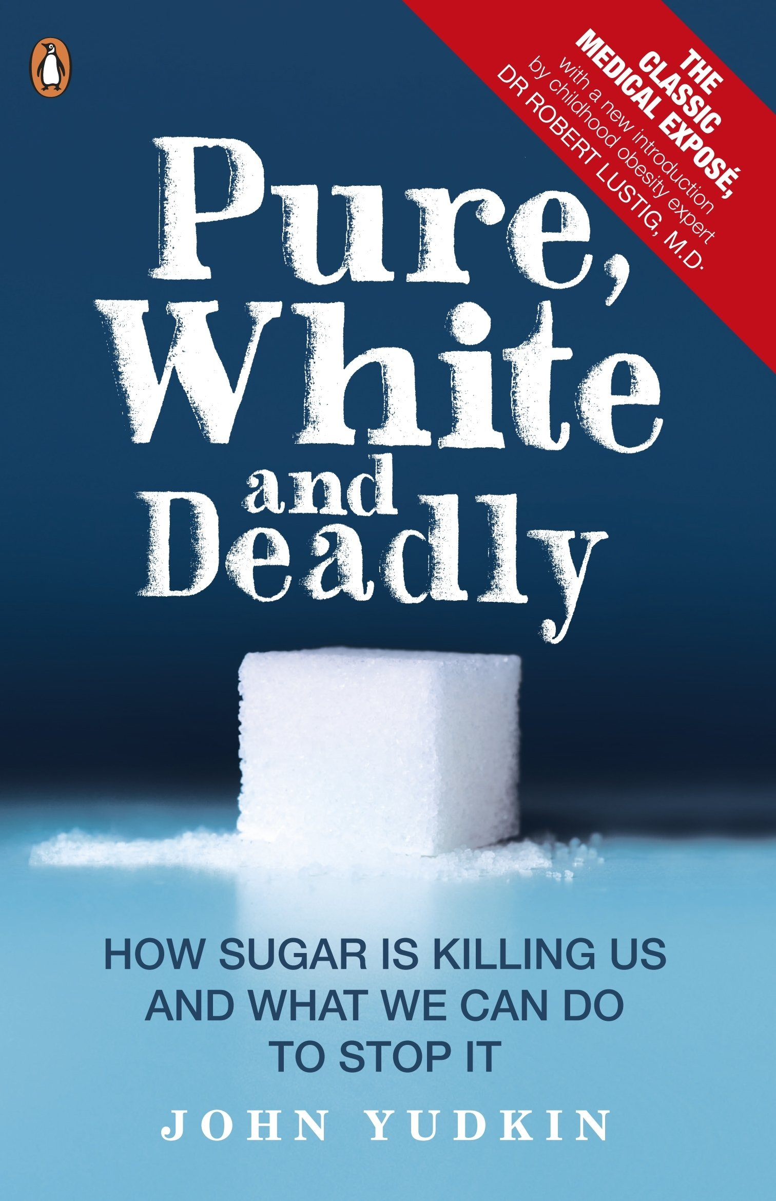 Pure, White, and Deadly - by John YudkinSugar. It's killing us.Why do we eat so much of it? What are its hidden dangers? In 1972, when British scientist John Yudkin first proved that sugar was bad for our health, he was ignored by the majority of the medical profession and rubbished by the food industry.We should have heeded his warning.Today, 1 in 4 adults in the UK are overweight.There is an epidemic of obese six month olds around the globe.Sugar consumption has tripled since World War II.Using everyday language and a range of scientific evidence, Professor Yudkin explores the ins and out of sugar, from the different types - is brown sugar really better than white? - to how it is hidden inside our everyday foods, and how it is damaging our health.Brought up-to-date by childhood obesity expert Dr Robert Lustig M.D., his classic exposé on the hidden dangers of sugar is essential reading for anyone interested in their health, the health of their children and the health of modern society.