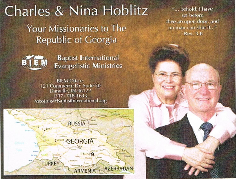 Charles & Nina Hoblitz - Republic of Georgia
