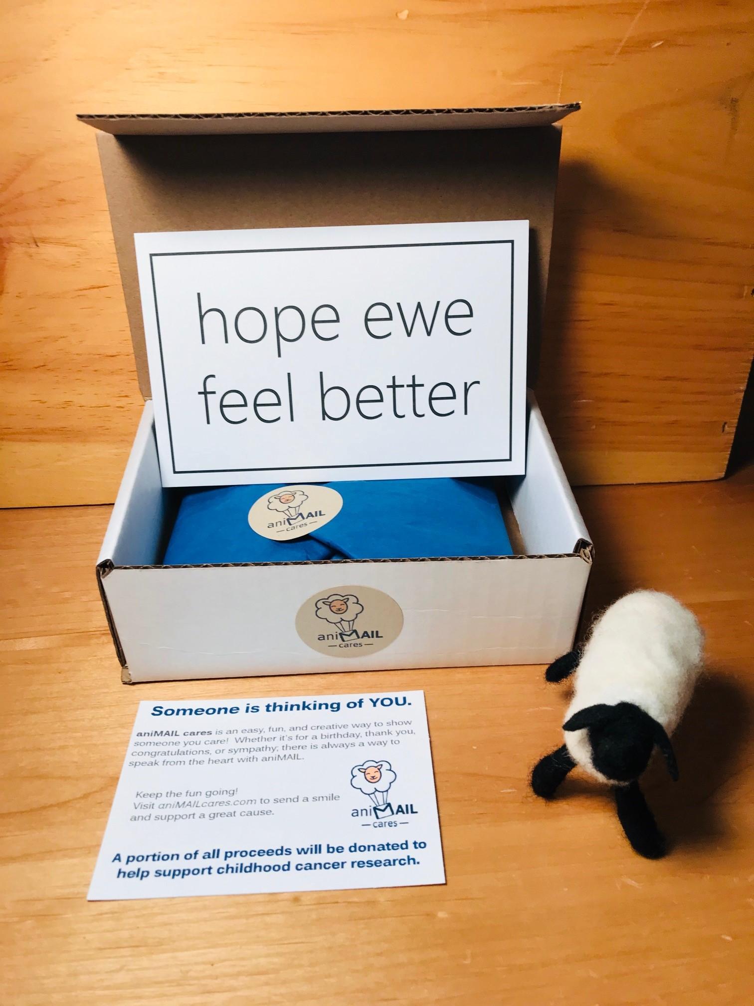 hope ewe feel better