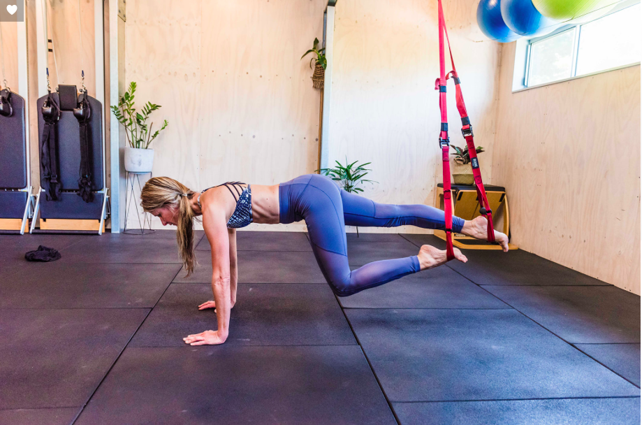 TRX is a fun way to exercise your whole body and increase muscles strength.  TRX works on your balance, increases core strength, flexibility and body tone