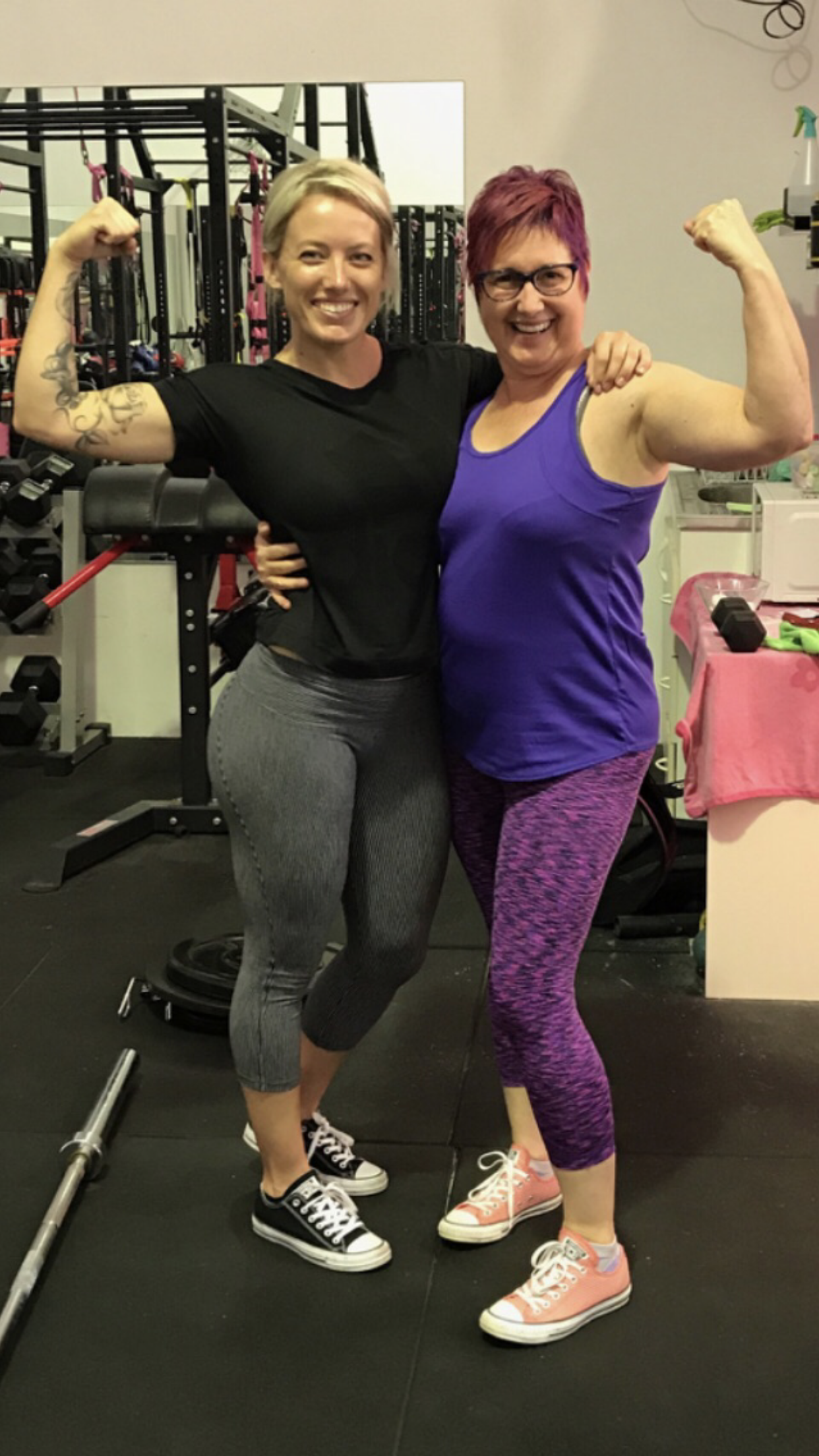 """I was 55, overweight and had not been to a gym for about 8 years. From the very first day Sarah was present, attentive, careful and exceptionally professional. Sarah always checked in with me about how my body was feeling. I started with sore knees and was extremely unfit. Sarah took her time as we built on strengthening my body. Sarah is extremely focussed on detail to prevent injury when getting form correct. Sarah helped with setting realistic goals and is incredibly encouraging. I had the most amazing 12 months with Sarah and achieved goals I would never have imagined. She was incredible at tapping into what was possible, pushing through a few years and difficult times. She never gave up on me which secured my commitment to also never give up on me. I have missed her since I moved away. Sarah has the highest integrity and is an incredible Personal Trainer.""  - Diane"