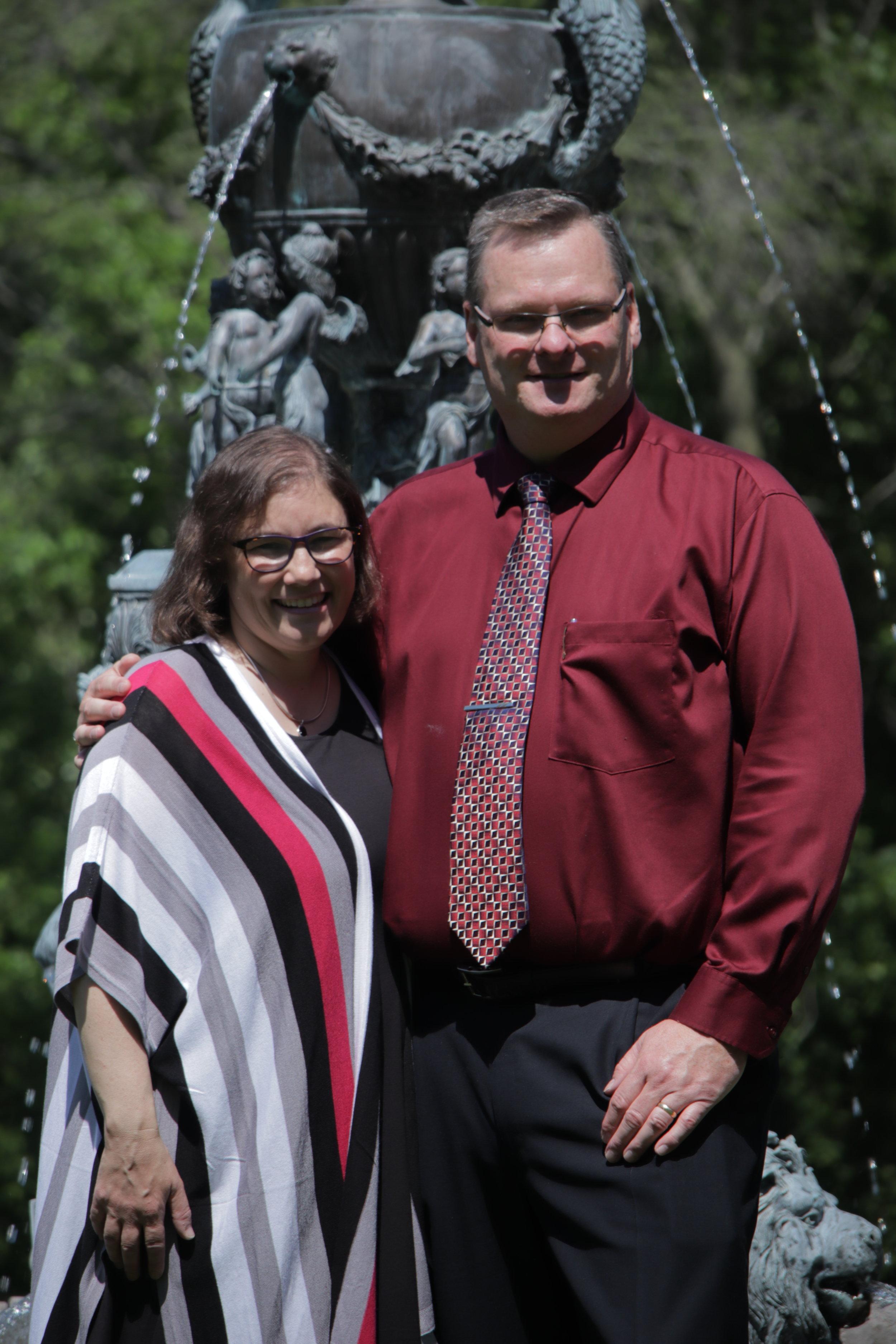Brian and Sue Arnold - 25th Wedding Anniversary