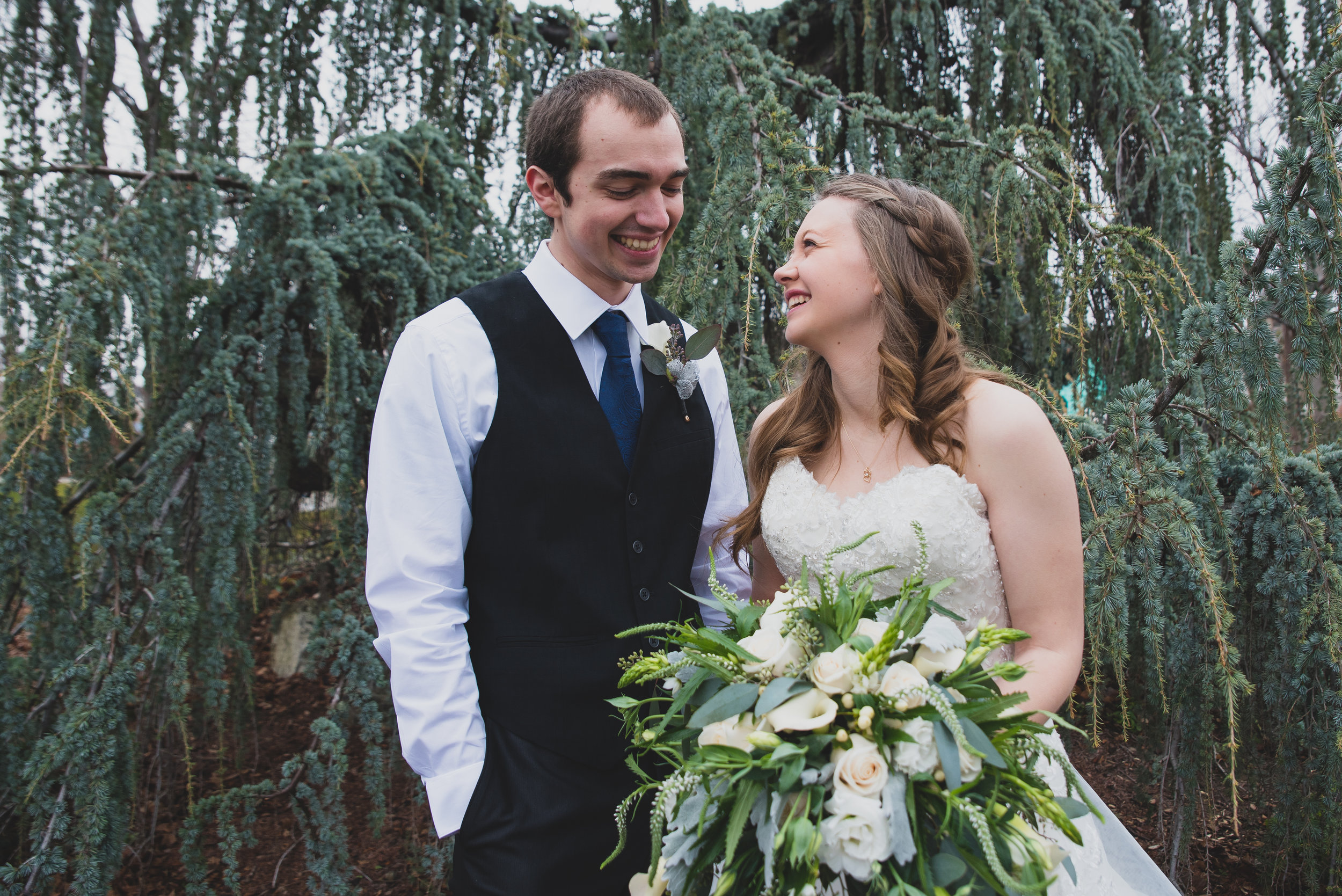 """Rebecca & Coby - """"Jamie was great to work with! She customized her photo package to fit our needs and is very responsive with any and all questions. The photos turned out so beautiful, we are having trouble picking our favorites! Her pricing is incredibly fair and we couldn't be happier!!"""""""