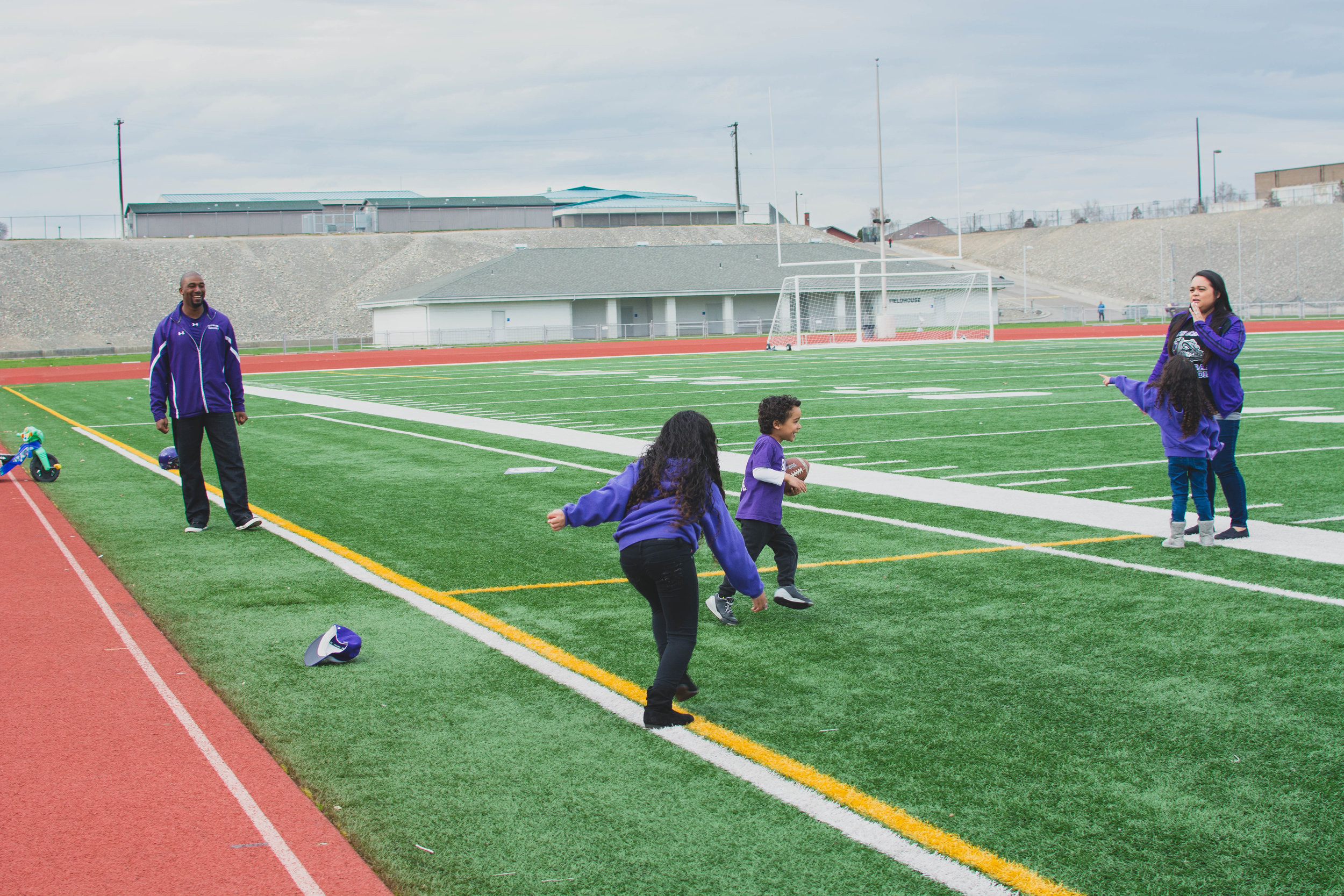 Pasco Football Session