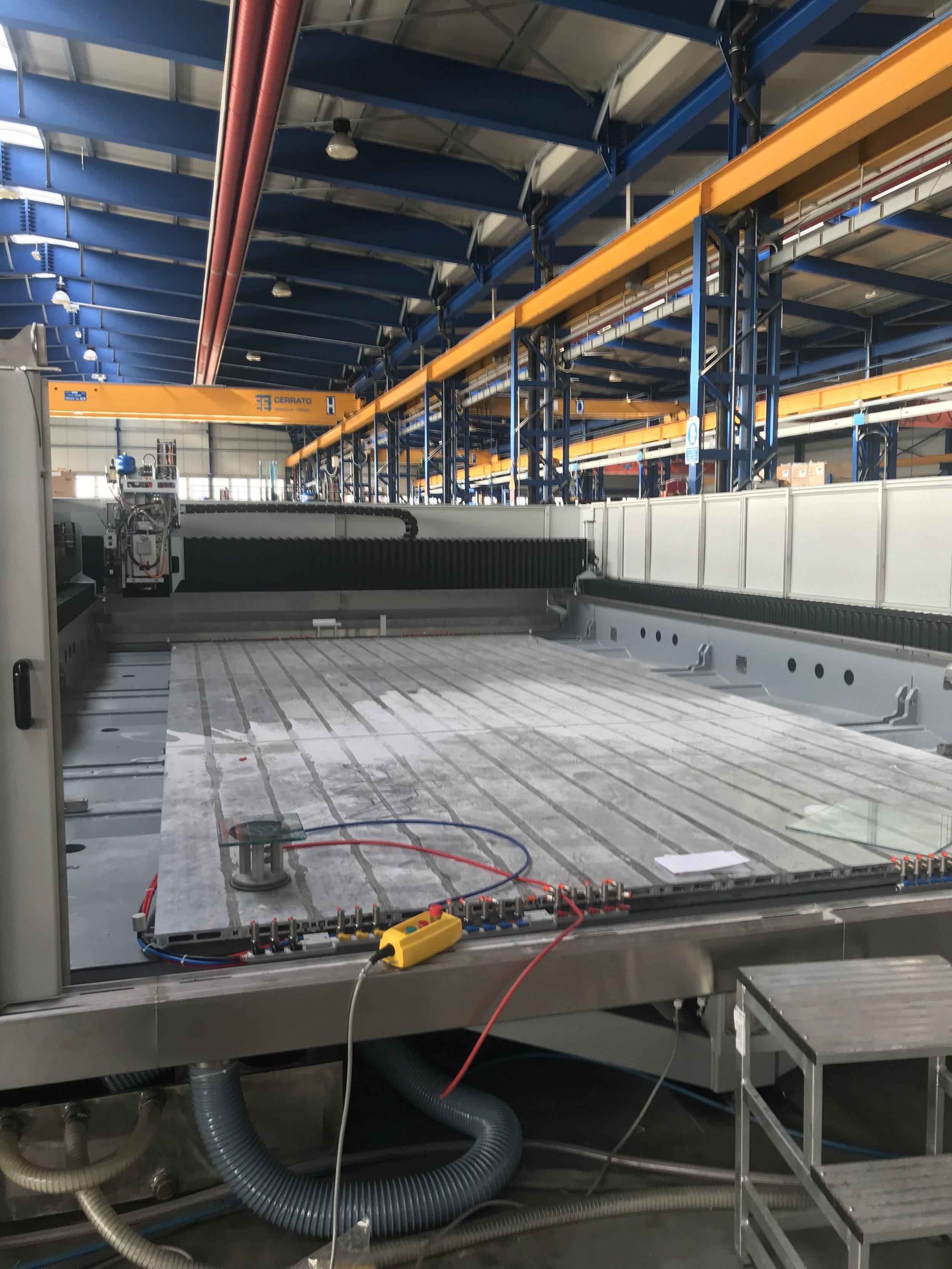 2019 Bottero Stone Technologies - Pratica Plus 6m Platform