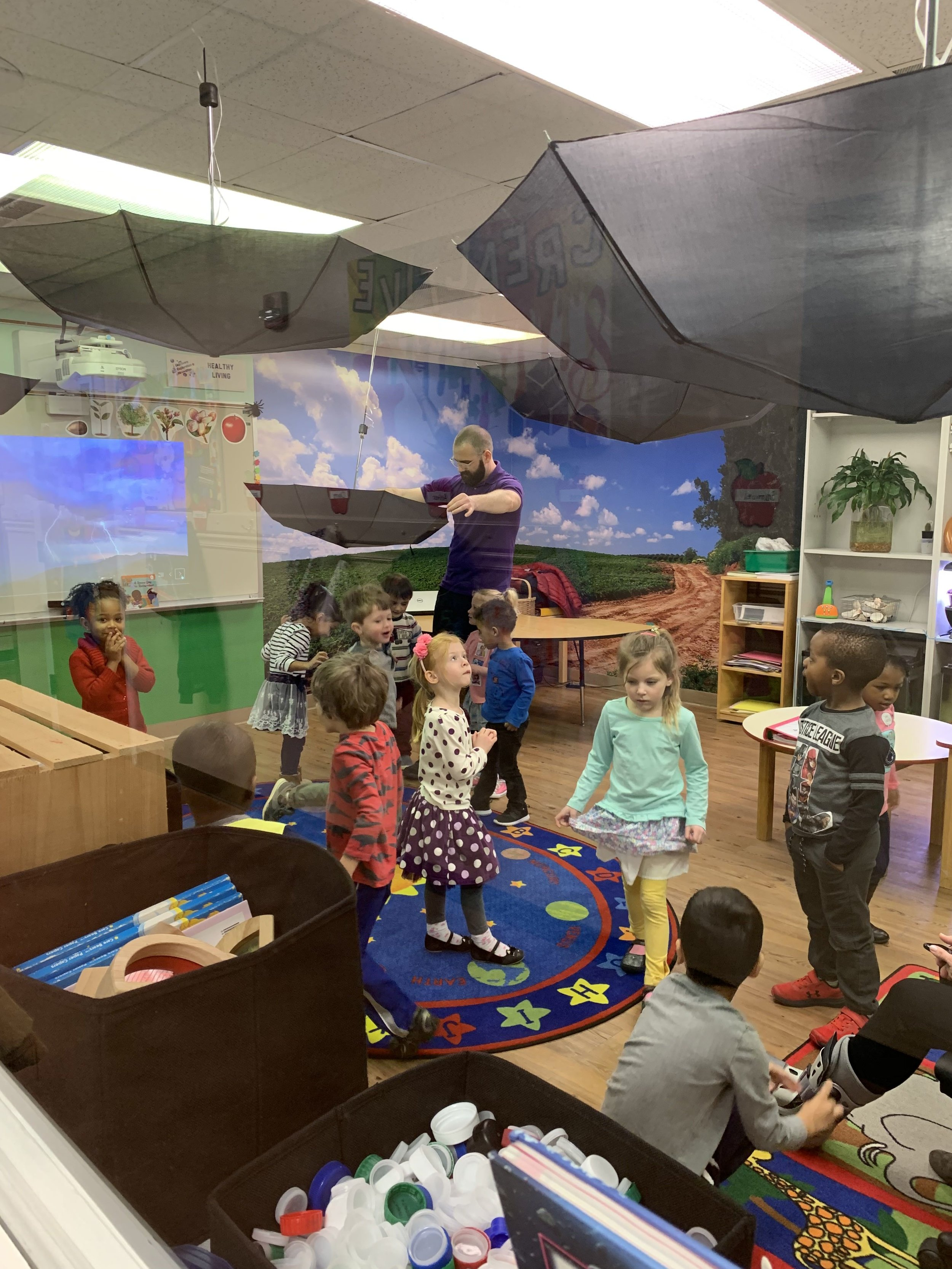 Enrichments - Unlike many daycares, we integration enrichment activities into our daily experiences. Our STEM Den allows students to explore their world through hands on experiences and activities. The time our students spend in the STEM Den is often their favorite time of the Day. Learn More