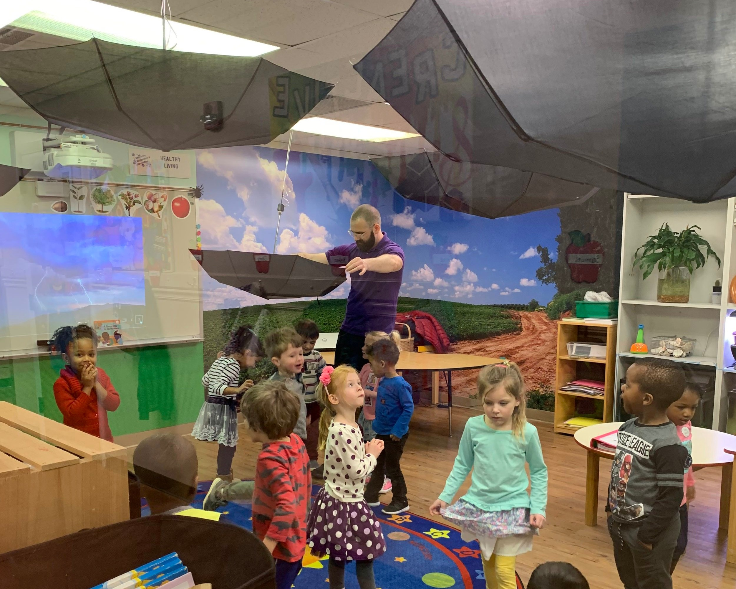 Enrichments - Unlike many daycares, we integration enrichment activities into our daily experiences. Our STEM Den allows students to explore their world through hands on experiences and activities. The time our students spend in the STEM Den is often their favorite time of the Day.
