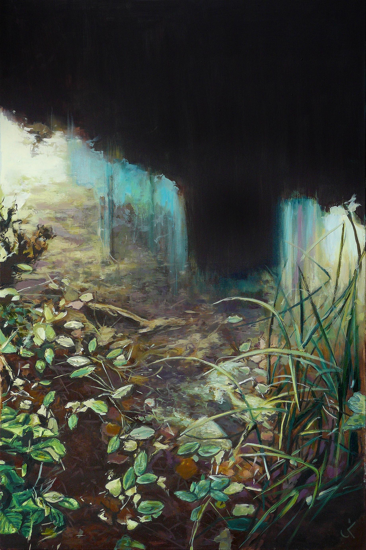 "Poison, 23.6"" x 35.4"" (60 x 90 cm), oil on canvas"