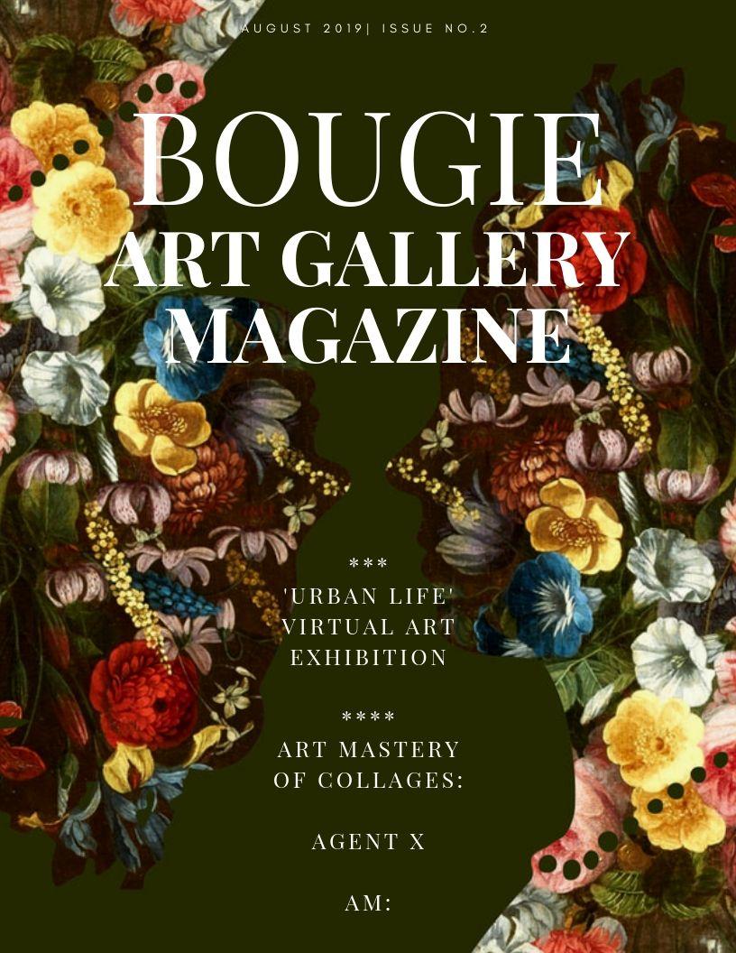 Read 'Bougie Art Gallery Magazine' here