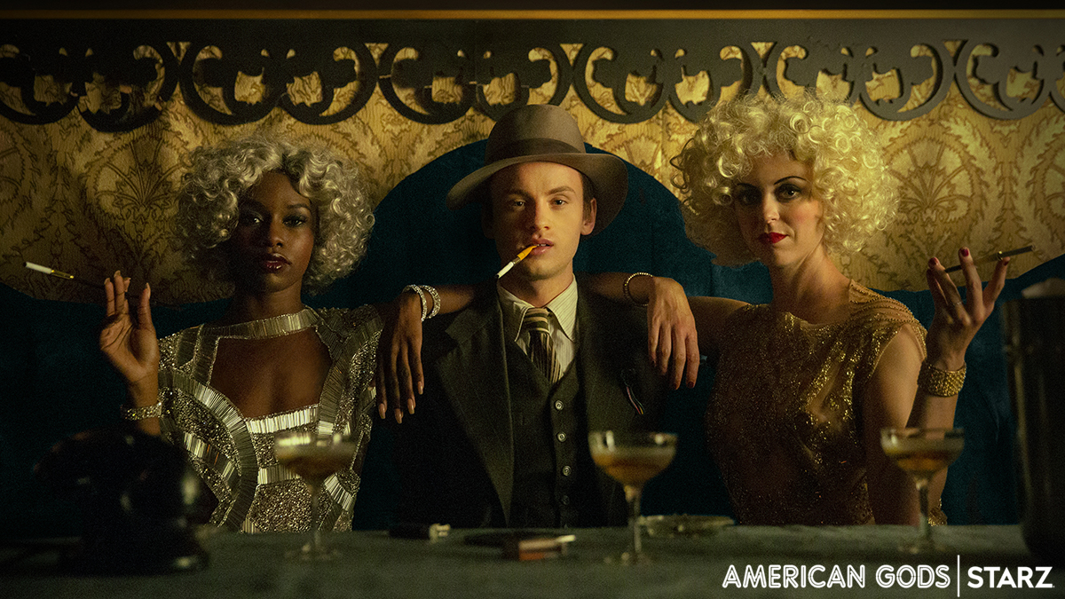 Bruce Langley as Tech Boy in American Gods S2