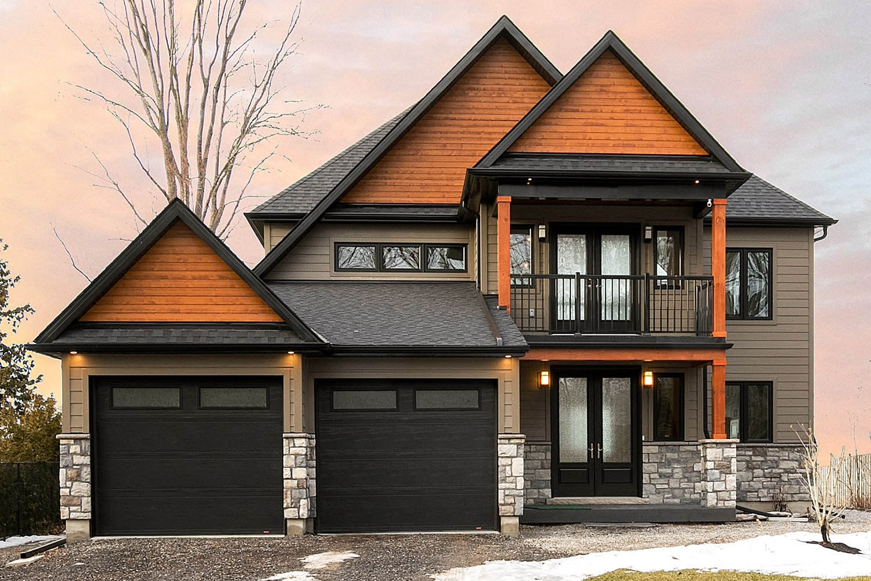 Georgina Lakefront Custom Home -