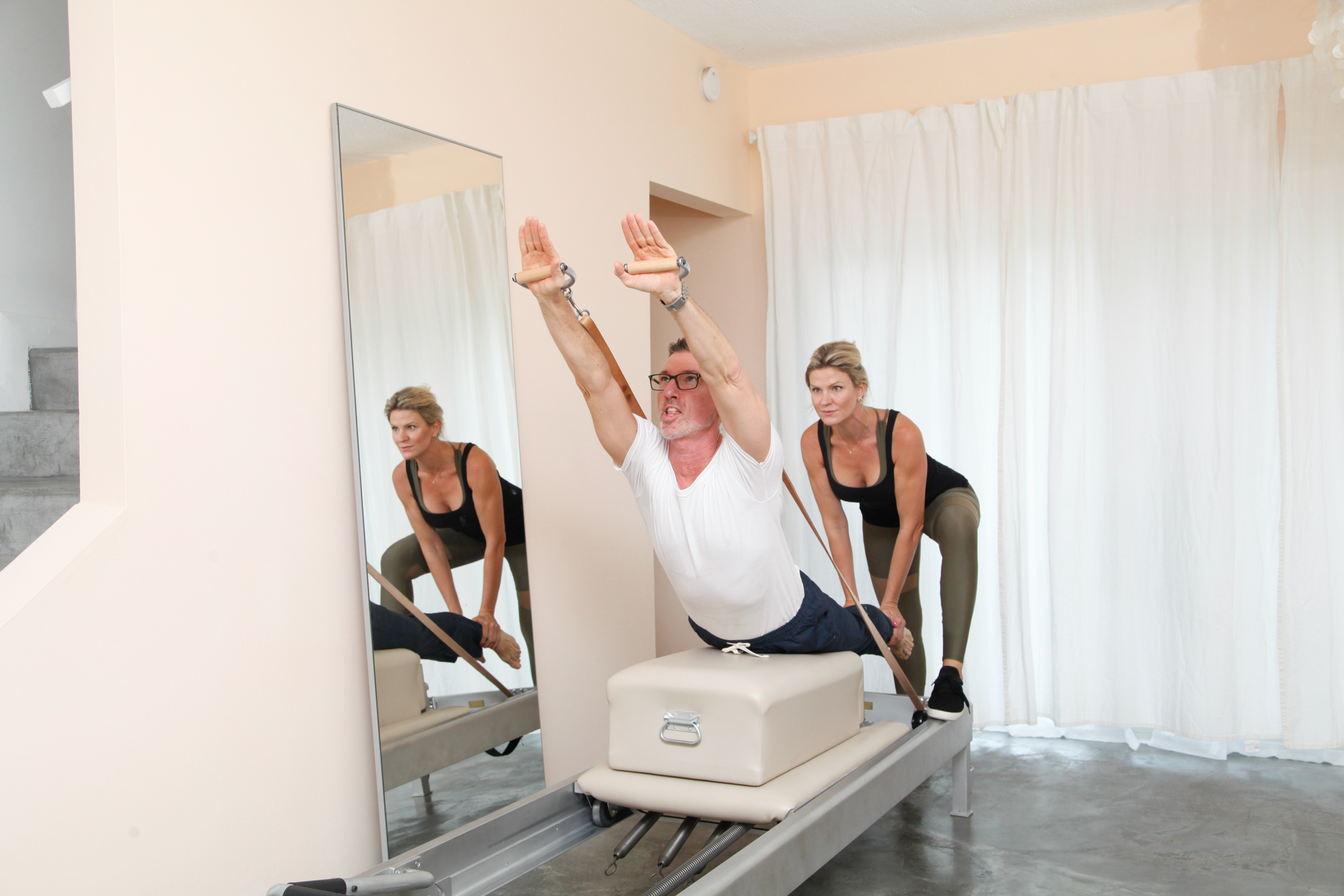 breast stroke Pilates Pilatay Reformer Exercises