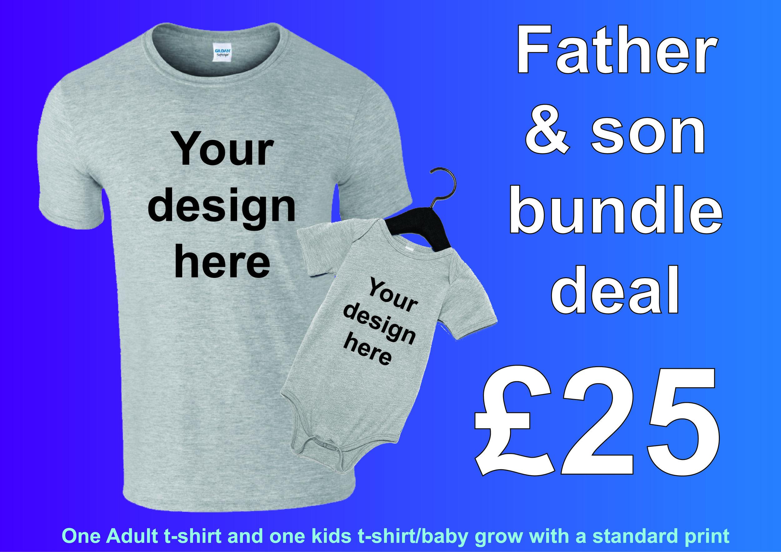 Family T Shirt Bundle Urban Identity