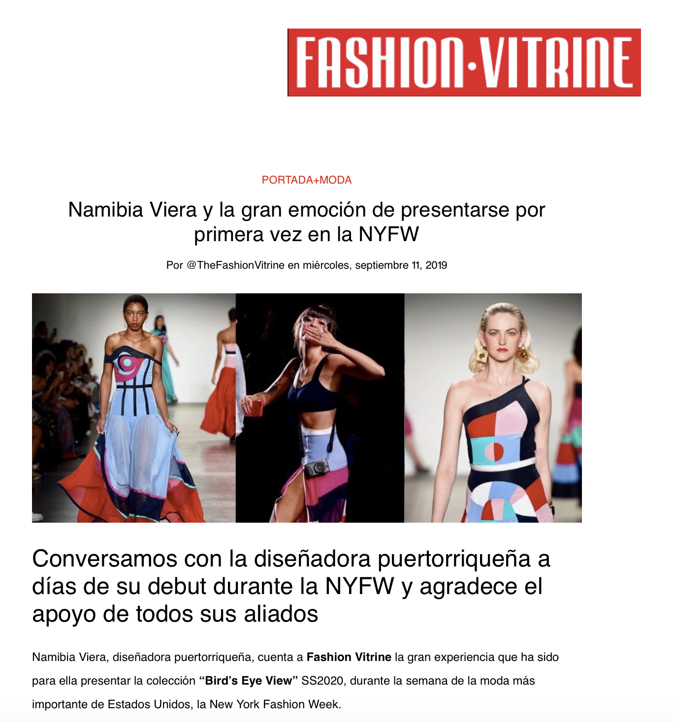 Fashion Vitine
