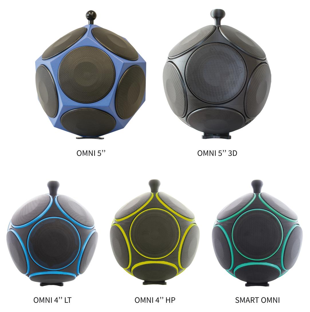 Ntek Omnidirectional Sound Sources