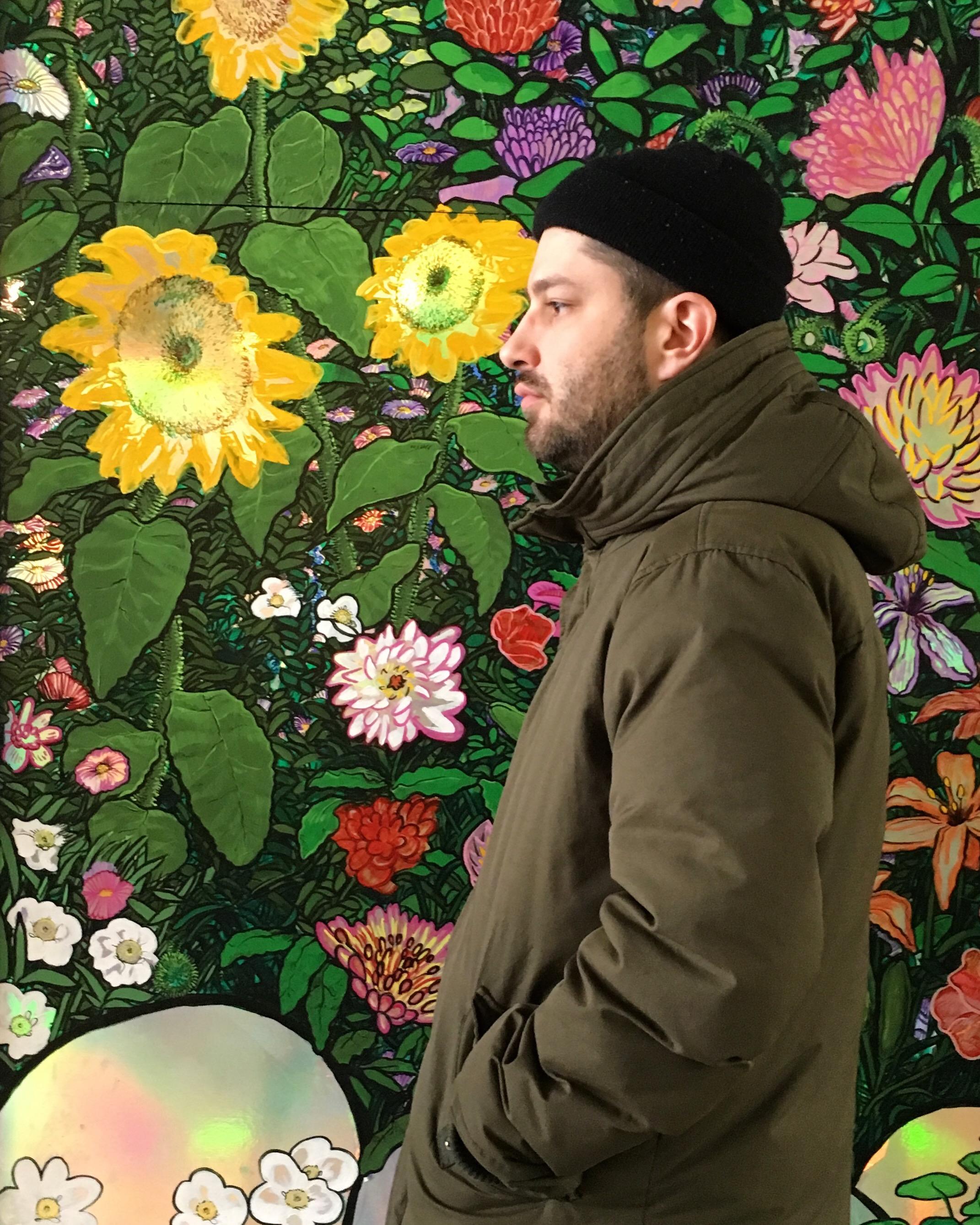 Thom Sheridan, Flower Wall.JPG