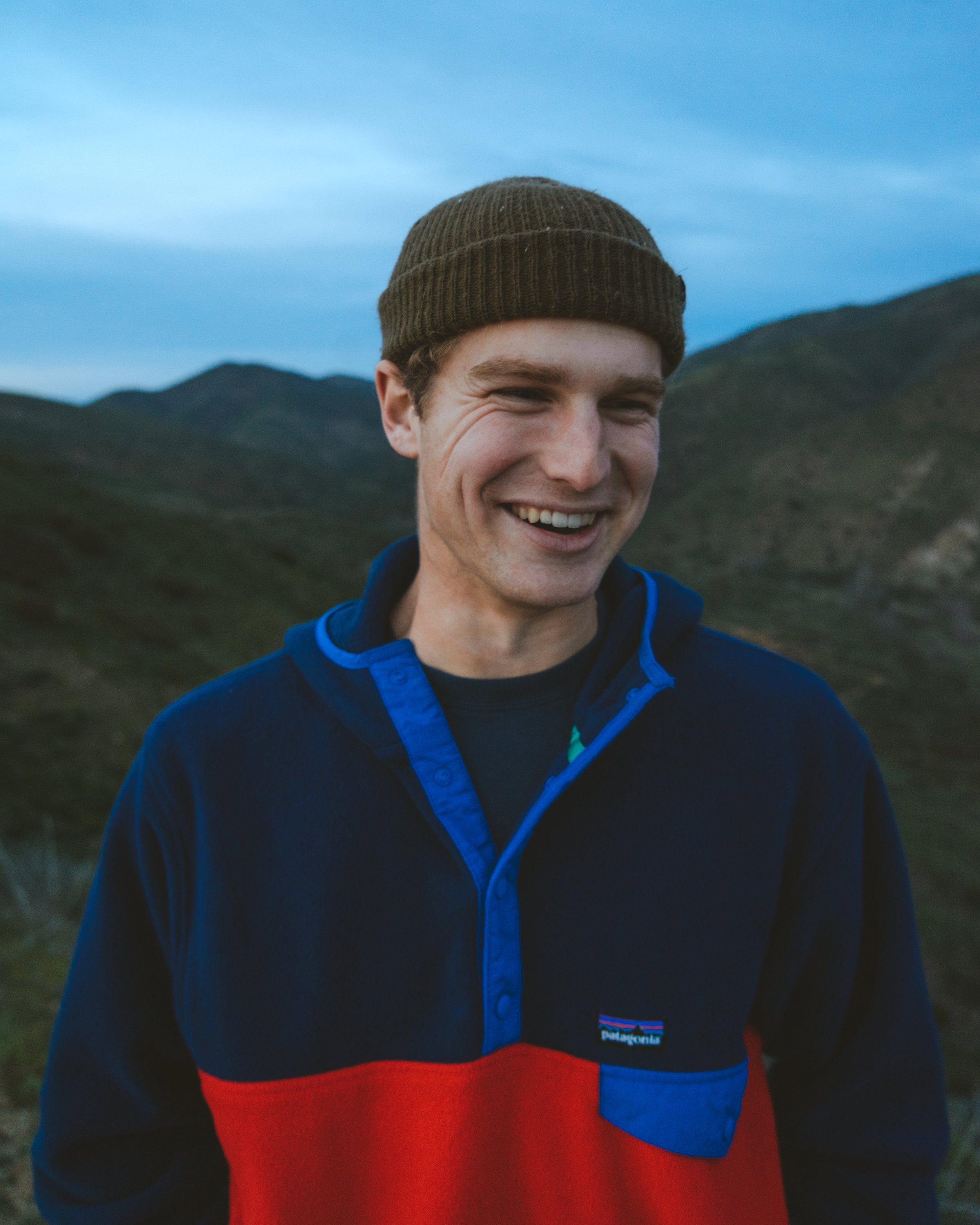Chris Meugniot - Born and raised in Ventura, California Chris was never fond of the outdoors until he picked up a camera. Since then he has worked to capture authentic moments between people and nature.