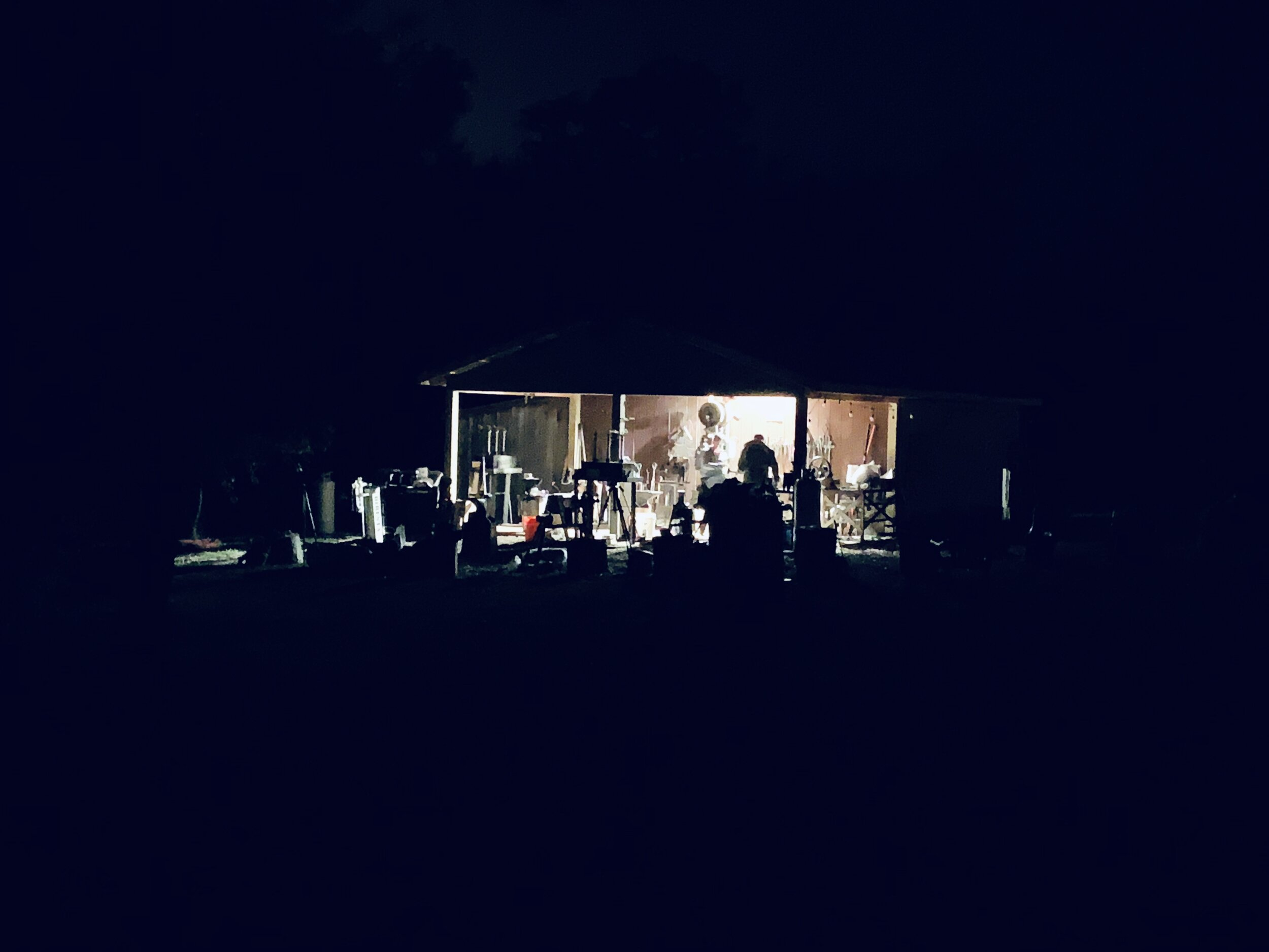 Late night session at the Diresta Blacksmith Class 2018