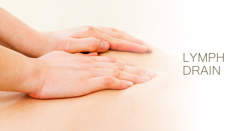 Lymphatic Massage - a very gentle massage that encourages lymph flow in the body. it is an extremely light massage using circular pumping movements to stimulate the lymphatic system and help drain swollen tissues. It supports the body's immune system, helps with recovery post surgery, and aids in the body's natural waste removal process.lymphatic massage is good for detoxification, edema, pre and post surgery, and post liposuction.