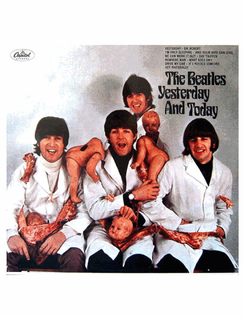 Beatles Butcher Cover