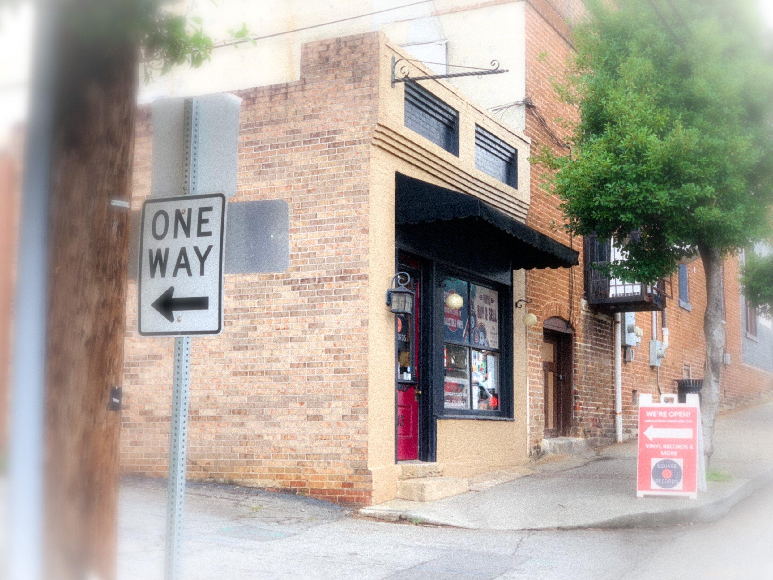 Square Records on Bradley Street in Carrollton, Georgia