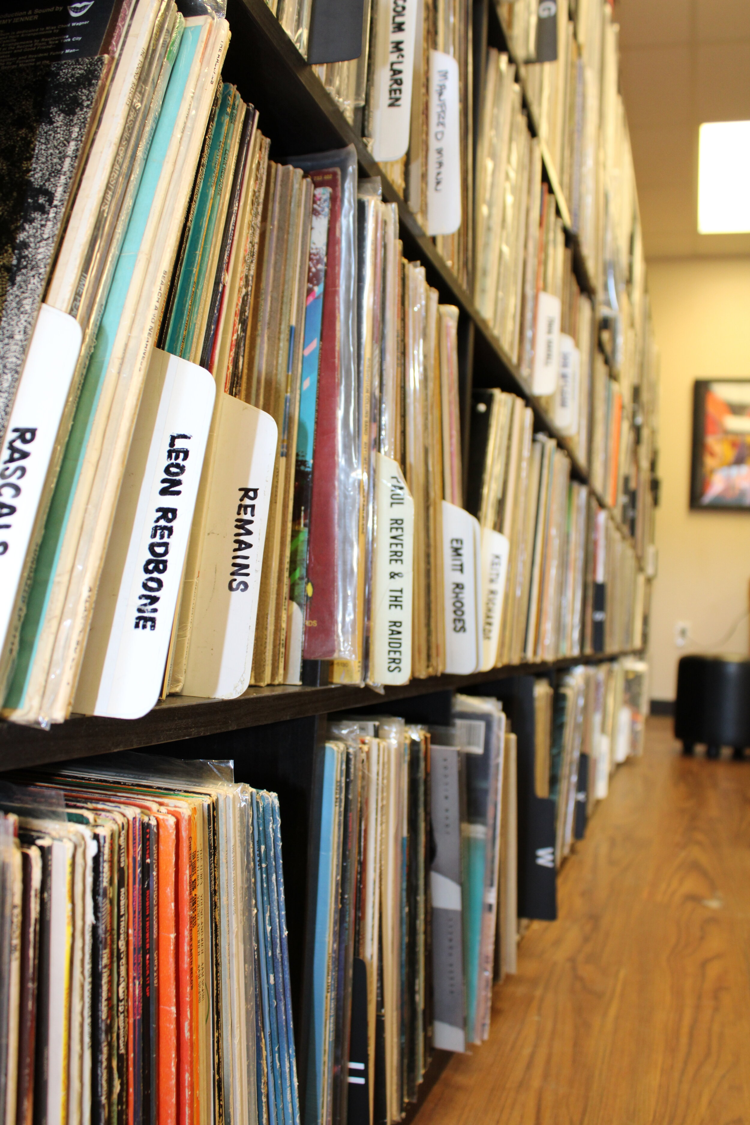Online Store: Vinyl Records, T-shirts, cleaning solution, & more