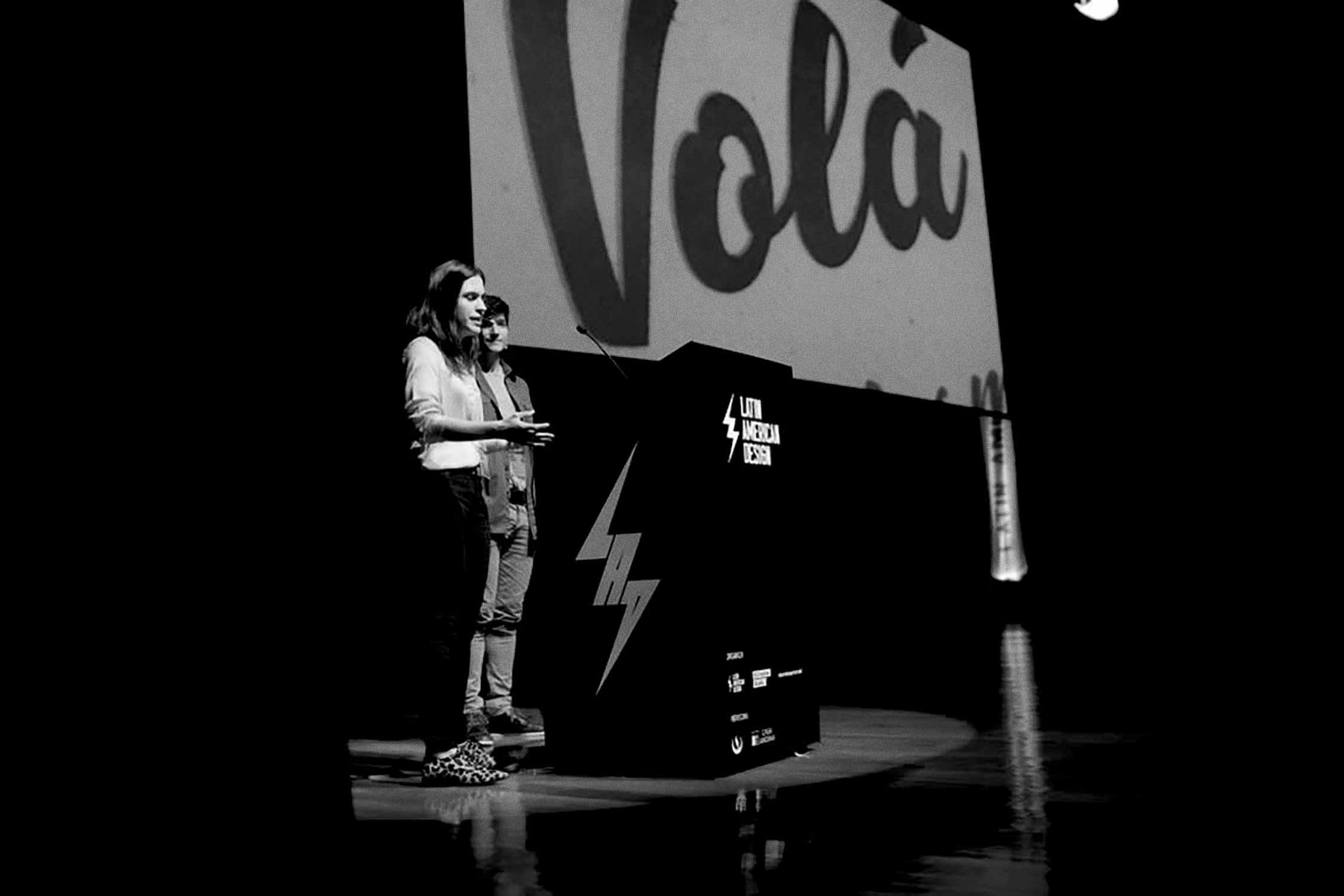 Yani&Guille at  Latin American Design Fest . Lima, Perú.