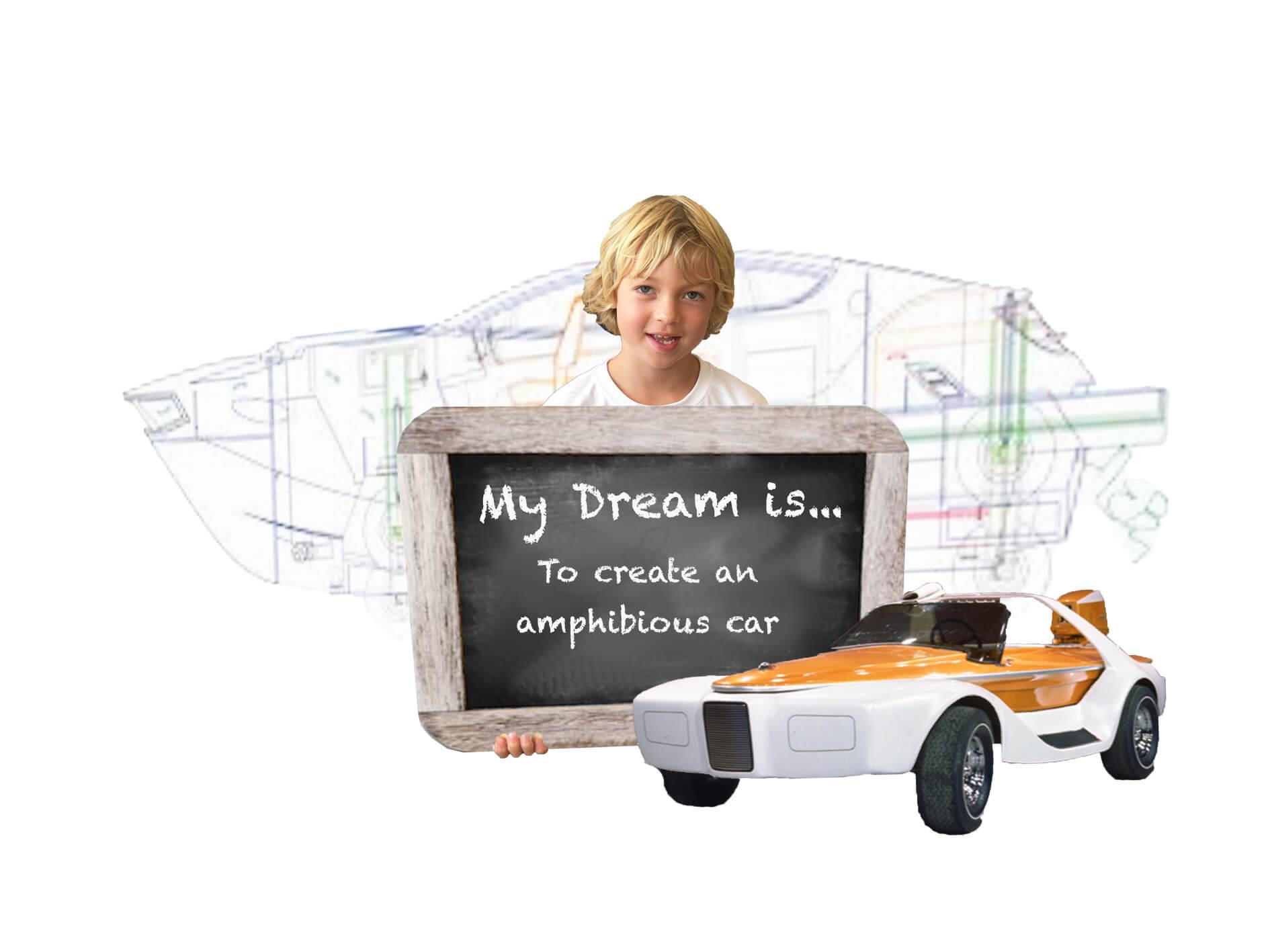 My Dream is to create an amphibious car