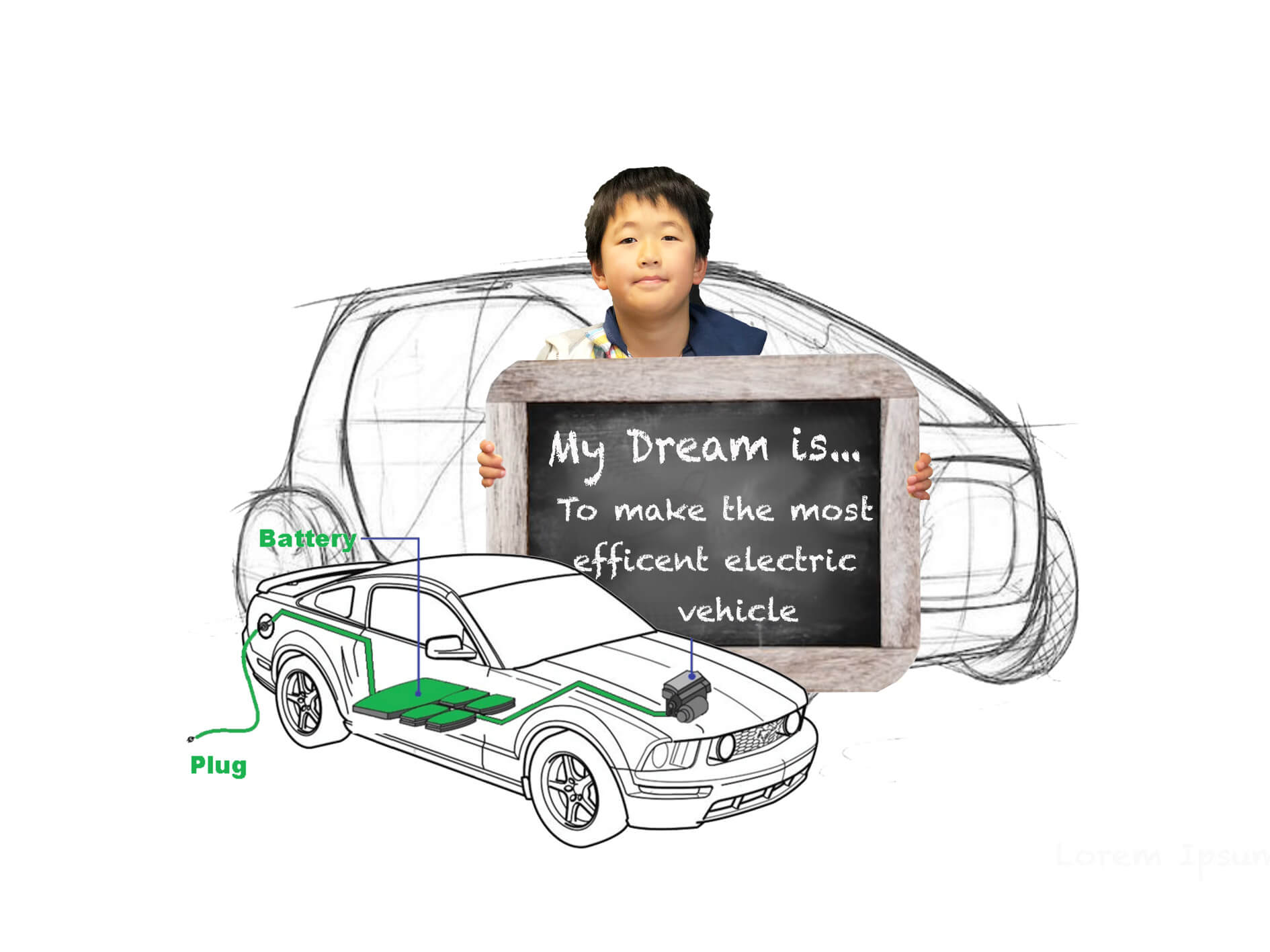 My Dream is to make the most efficient electric vehicle