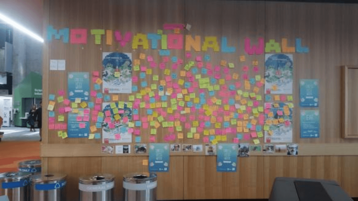 Students at Auckland University creating a sense of belonging (plus inspiration and fun)
