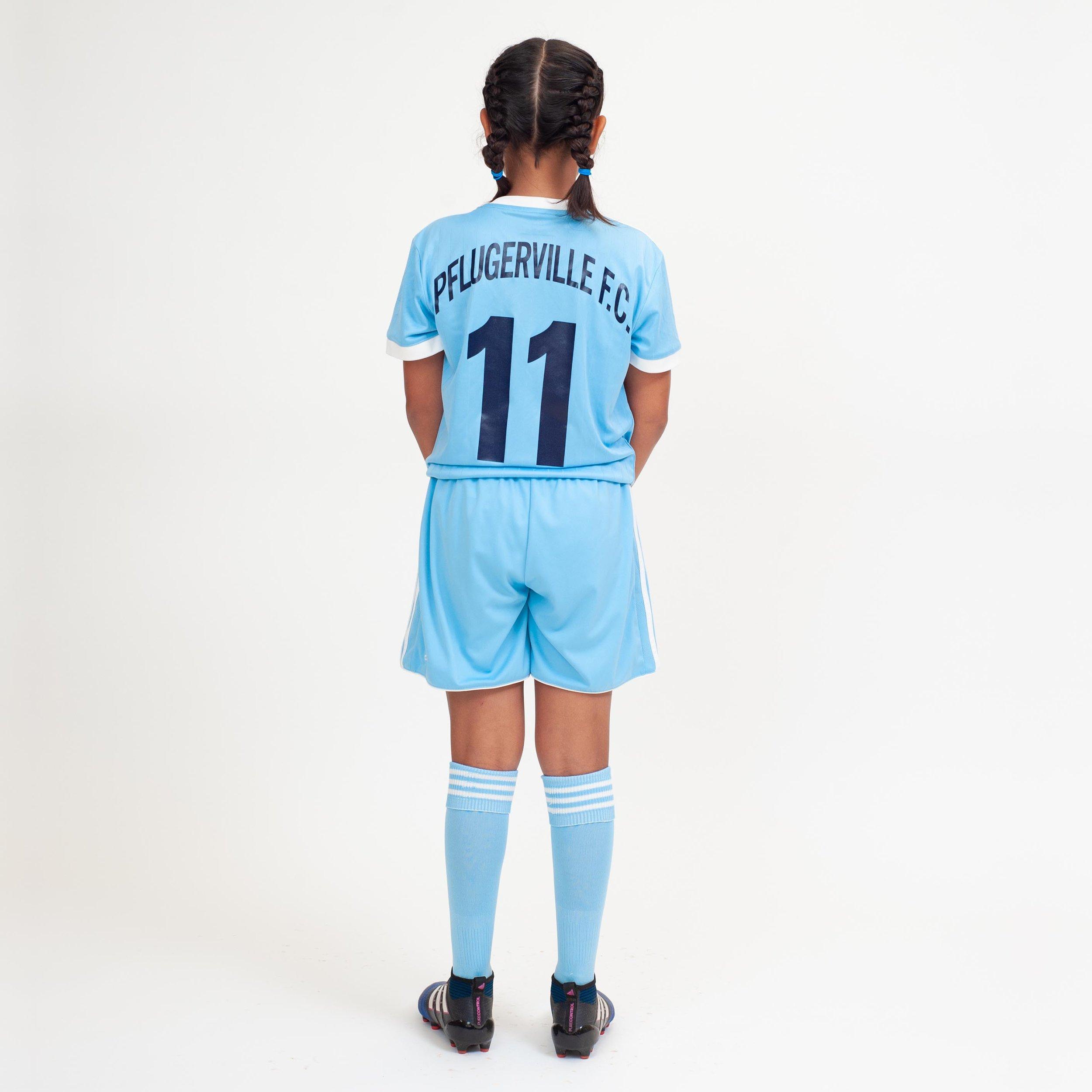 Pflugerville FC Select: Away (back)