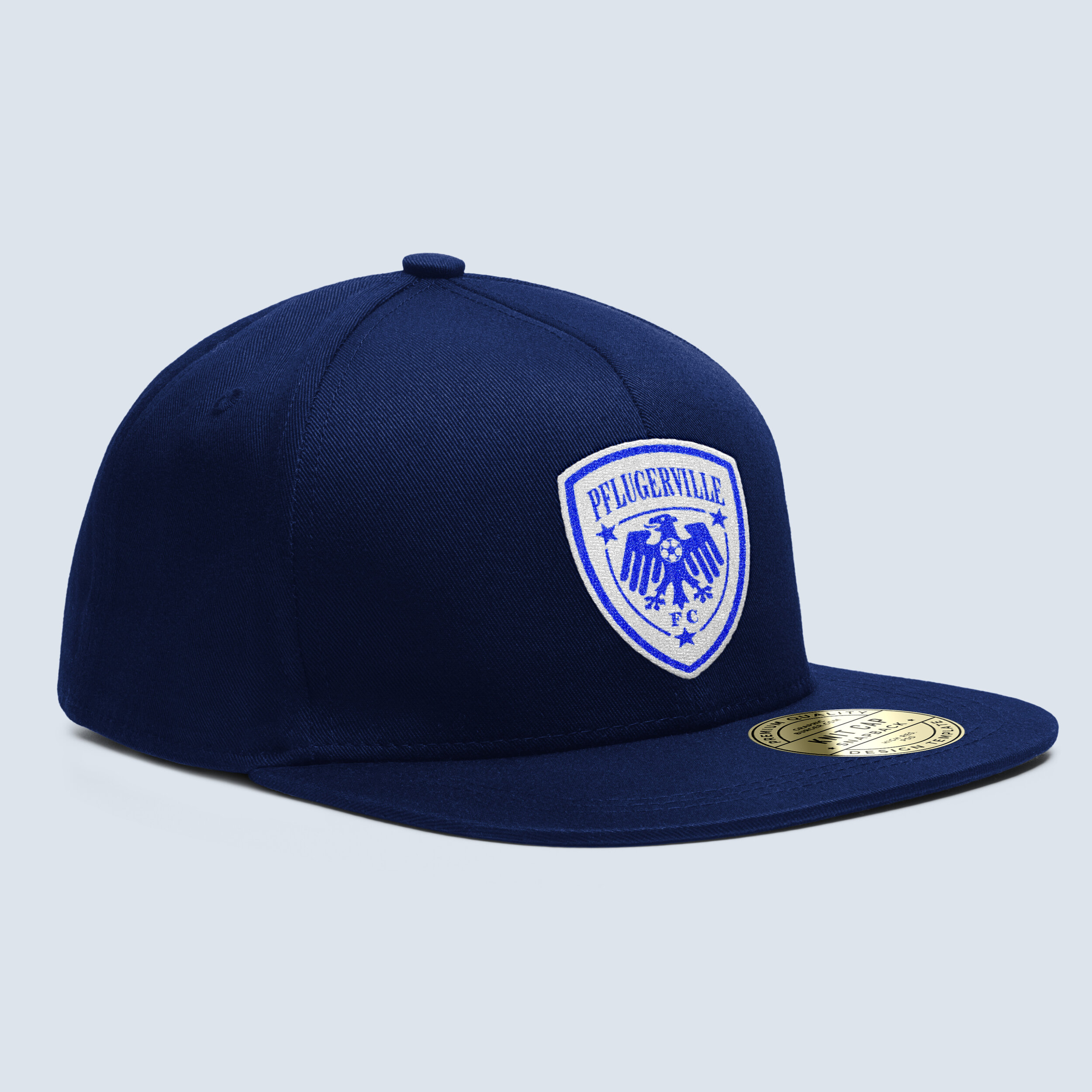 Embroidered Pick Crest Hat