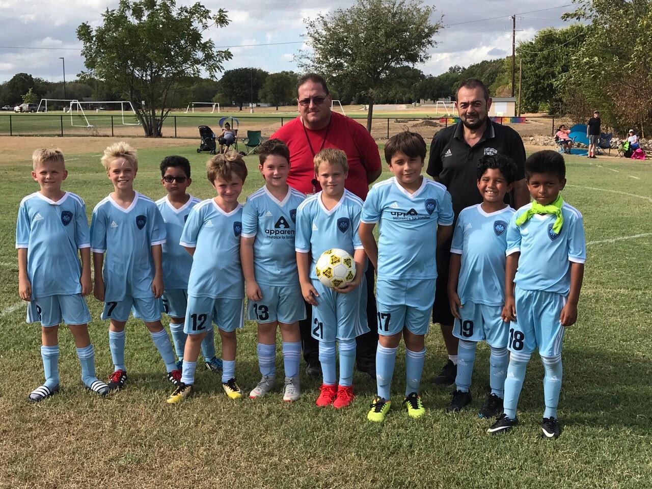 Pflugerville FC 2010 Boys Blue