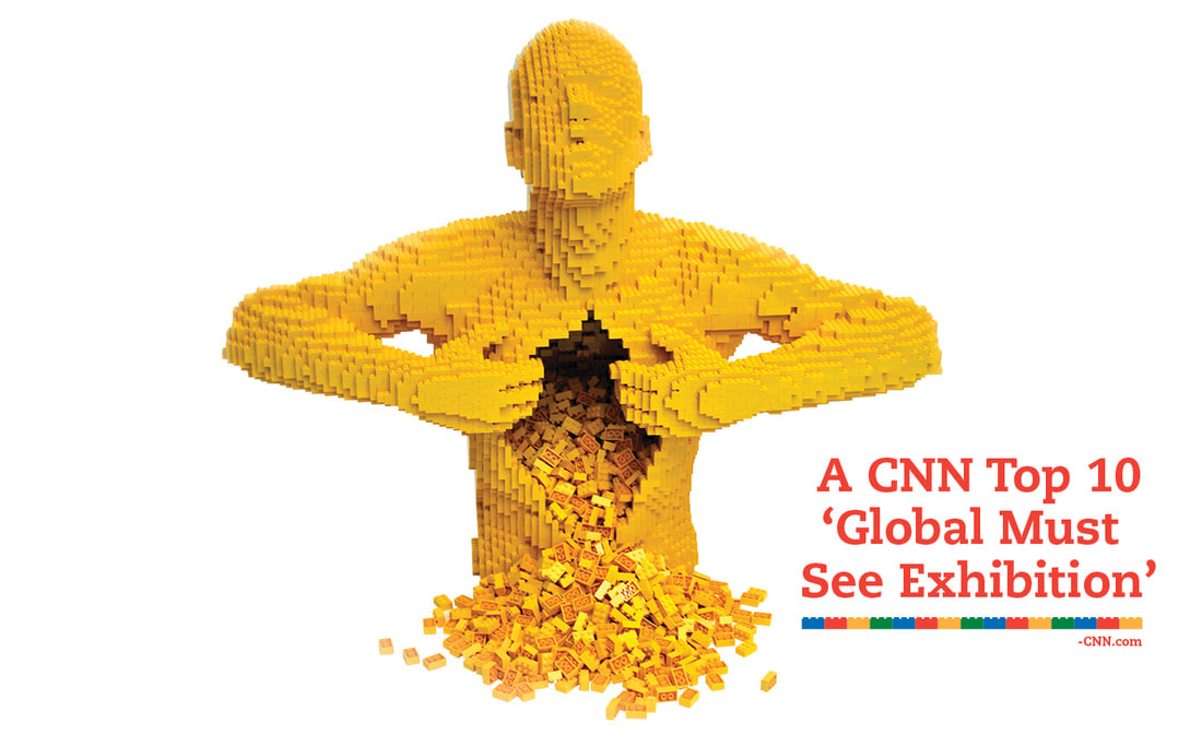 The Art of the brick by Nathan Sawaya. Image taken from: https://www.brickartist.com
