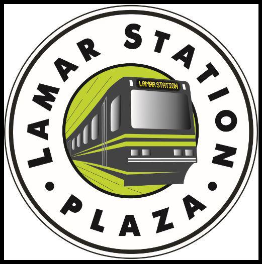 Lamar Station Plaza logo.png
