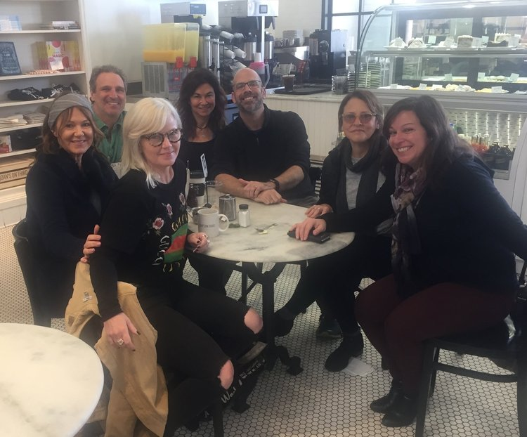 "Michelle Lewis, Kay Hanley, Shelly Peiken, Pam Sheyne, Adam Dorn and Adam Gorgoni, along with songwriter ""Mama Bear"" Brendan Okrent."