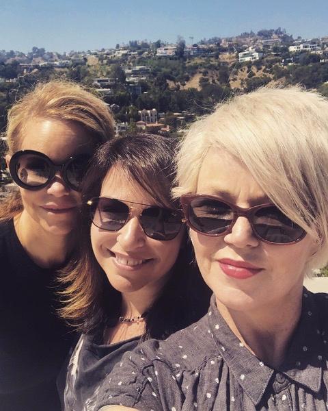Dina LaPolt, Michelle Lewis, and Kay Hanley.