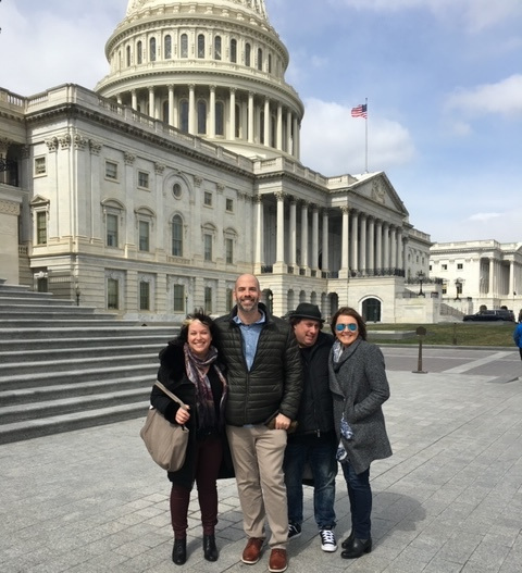 SONA Executive Board members Michelle Lewis, Adam Dorn, Jack Kugell, and Pamela Sheyne take on Capital Hill.