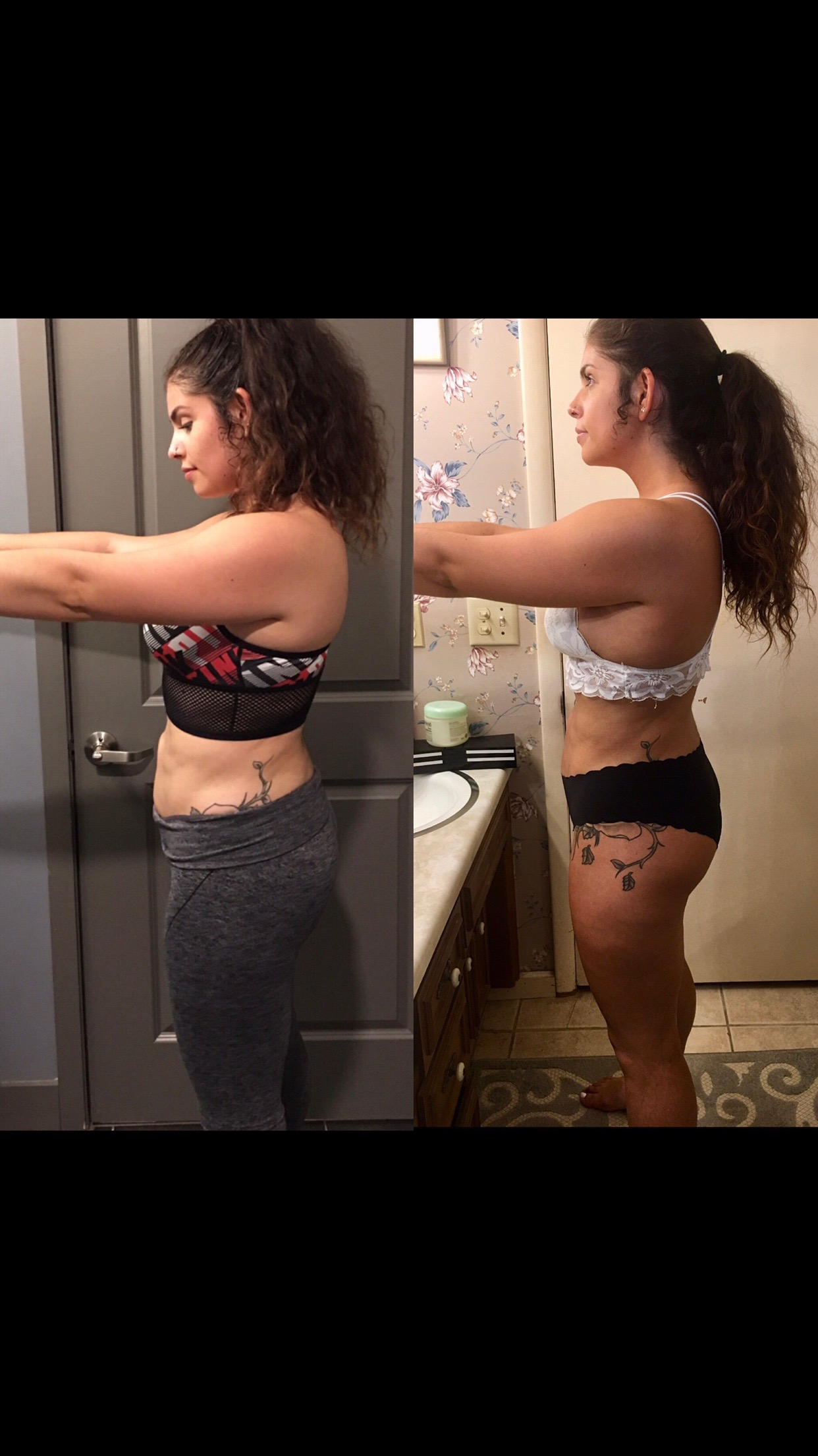 """- """"Being on Hannah's meal plans have been able to guide me in my weight loss journey. I am actually full and enjoy eating the meals she has picked out for me. The meals have kept me on track and really keep me from cheating and buying unnecessary unhealthy options! Hannah is a great supportive coach along your journey and also does monthly group workouts. If you're looking to get healthy Hannah's meal plans are the way to go!""""-LyANNE A."""