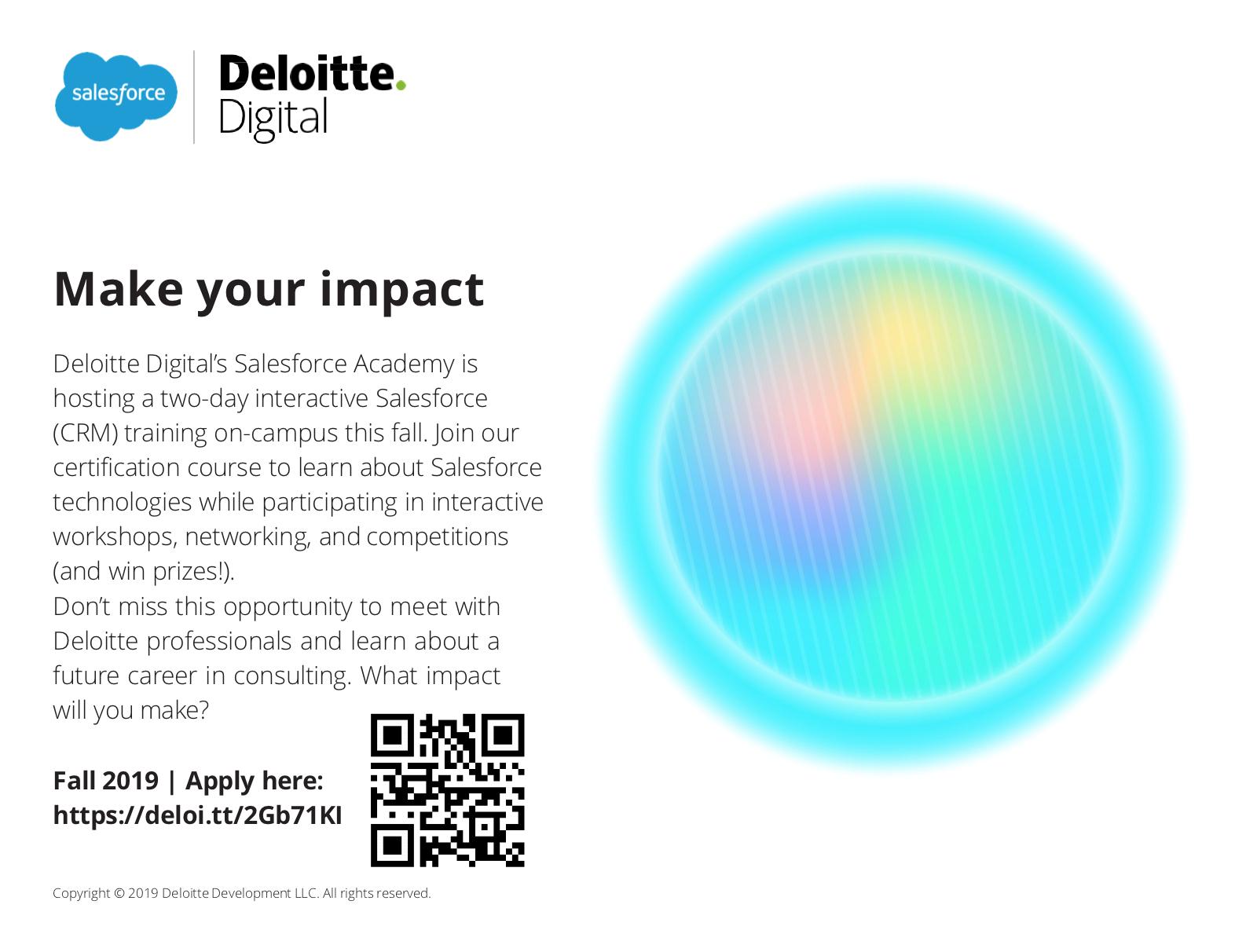 Deloitte Digital's Salesforce Academy (DDSA)