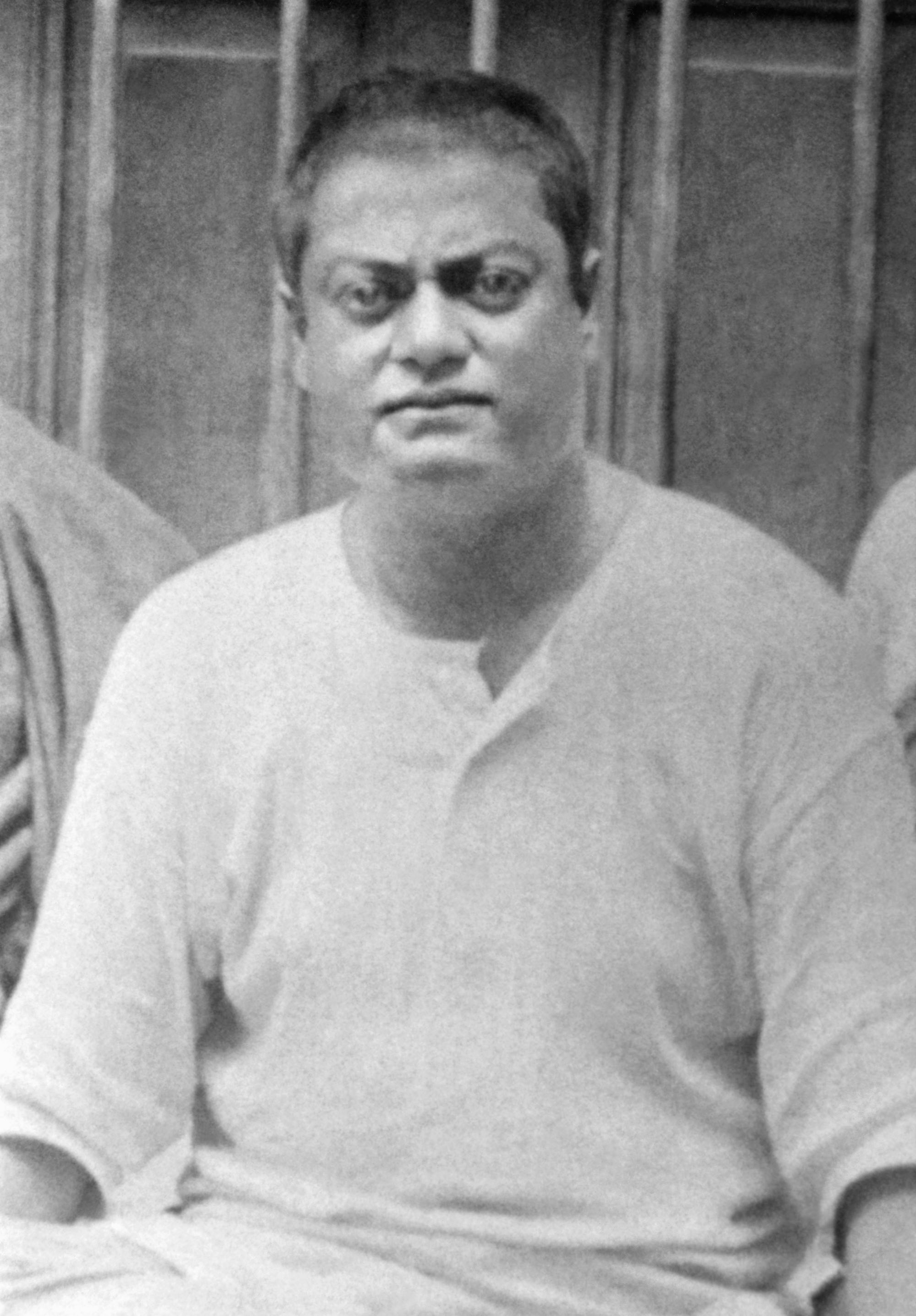 (#76) Crop of Swamiji from photo #75.