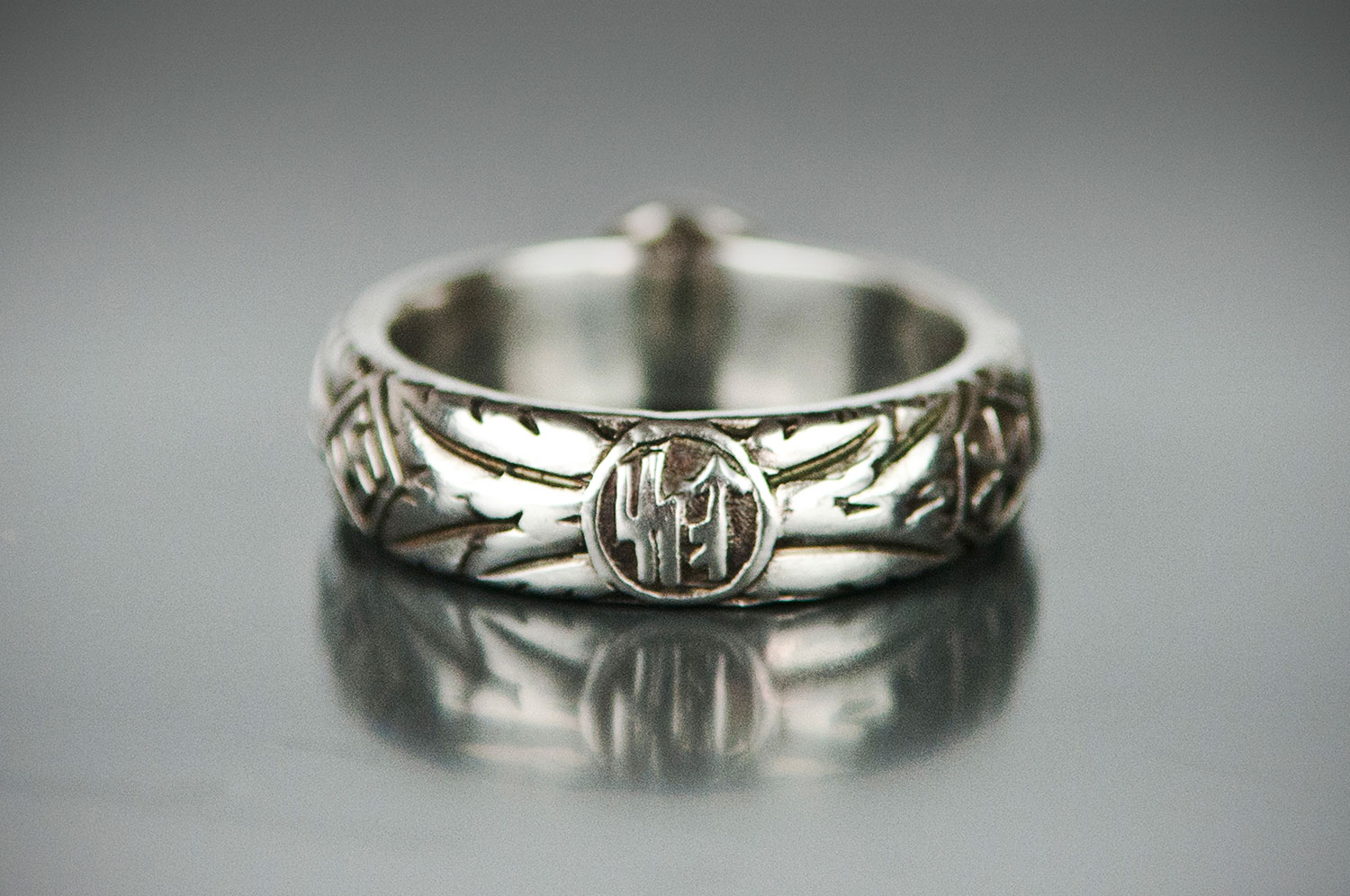 Panzer Meyer SS Honor Ring