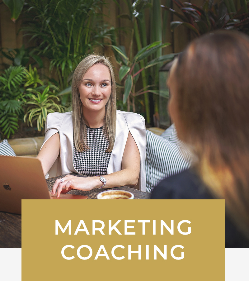 - Get the one-on-one help you need to establish a marketing plan, create engaging content and leverage processes and strategies that work for the industry.